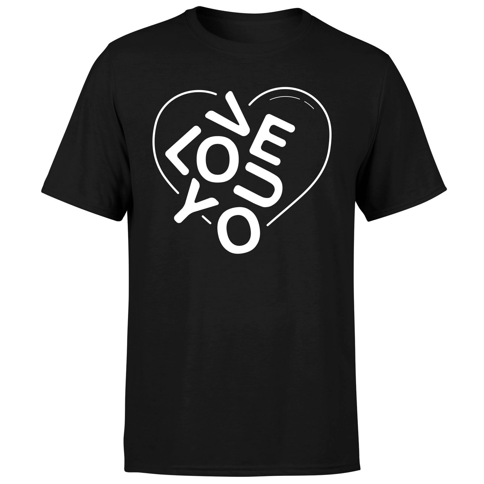 Love You Jumble T-Shirt - Black