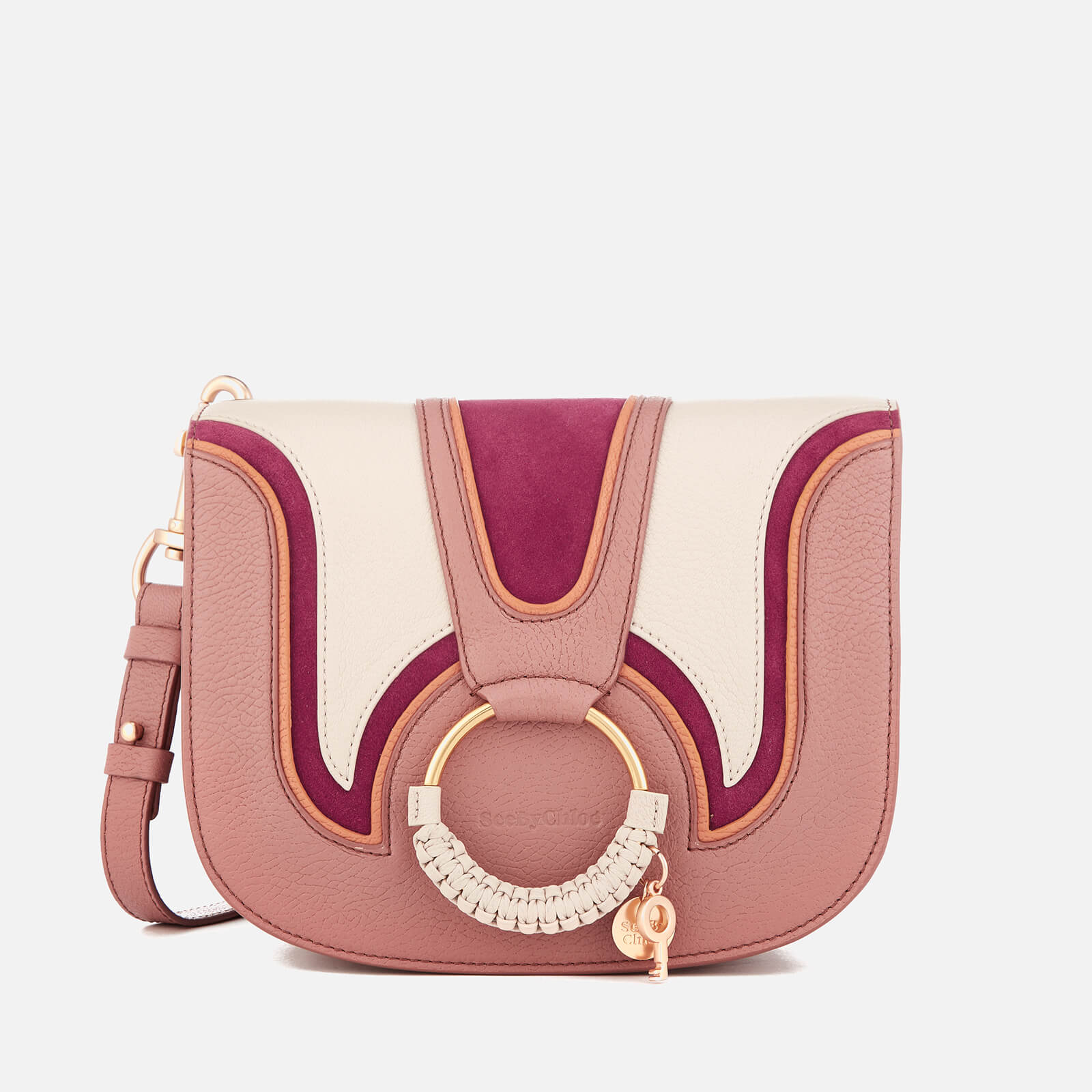 dc476f5c9b See By Chloé Women s Hana Medium Contrast Cross Body Bag - Nougat - Free UK  Delivery over £50