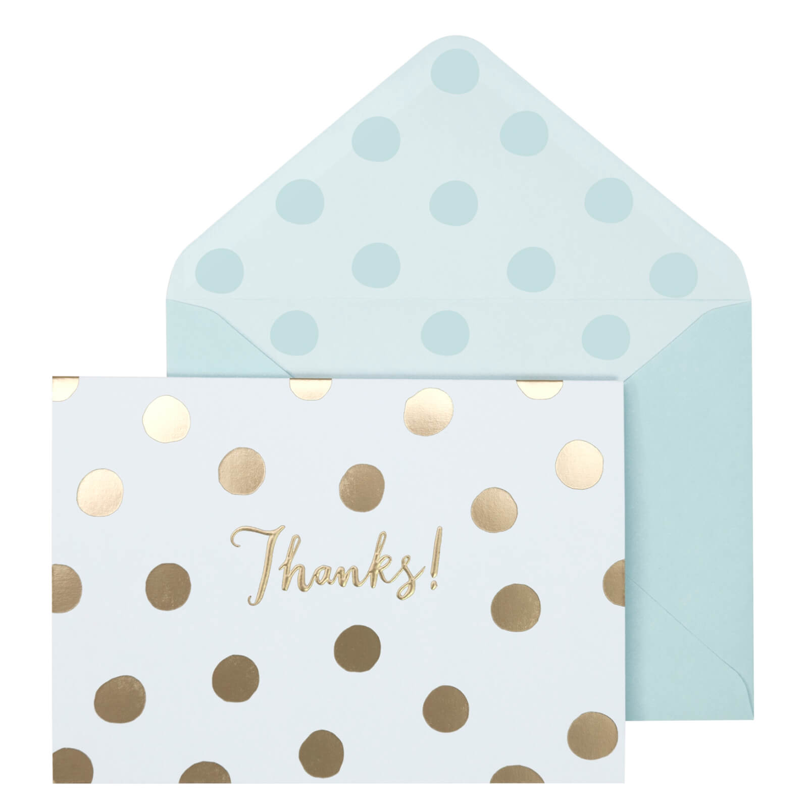 Portico Designs Notecards - Gold Spotty