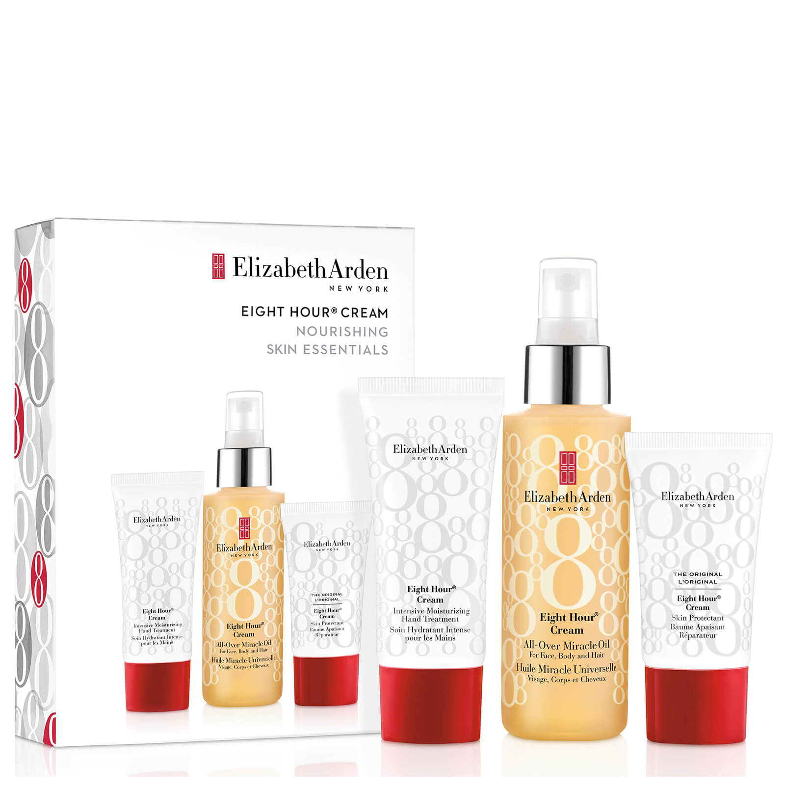 7054b67335f Elizabeth Arden Eight Hour Miracle Oil Gift Set (Worth 47.00 ...
