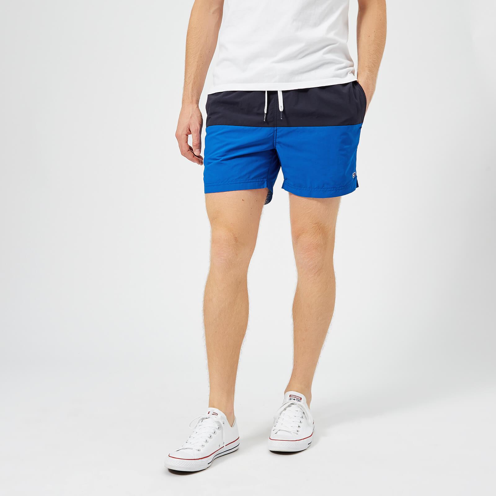 213fccc2 Tommy Hilfiger Men's Short Drawstring Swim Shorts - Navy Blazer/Lapis Blue Mens  Underwear   TheHut.com