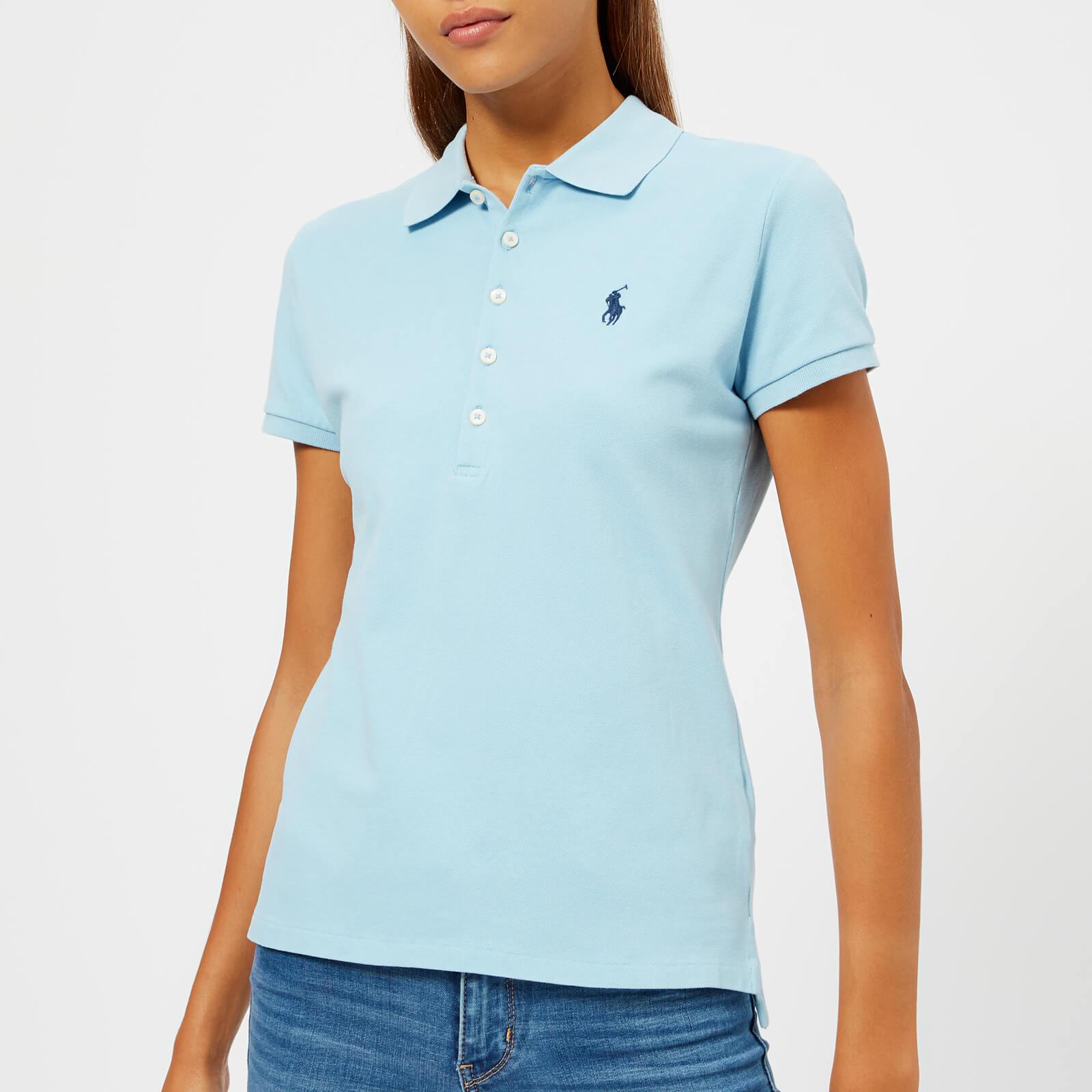 90c7ad8932 Polo Ralph Lauren Women's Julie Polo Shirt - Light Blue