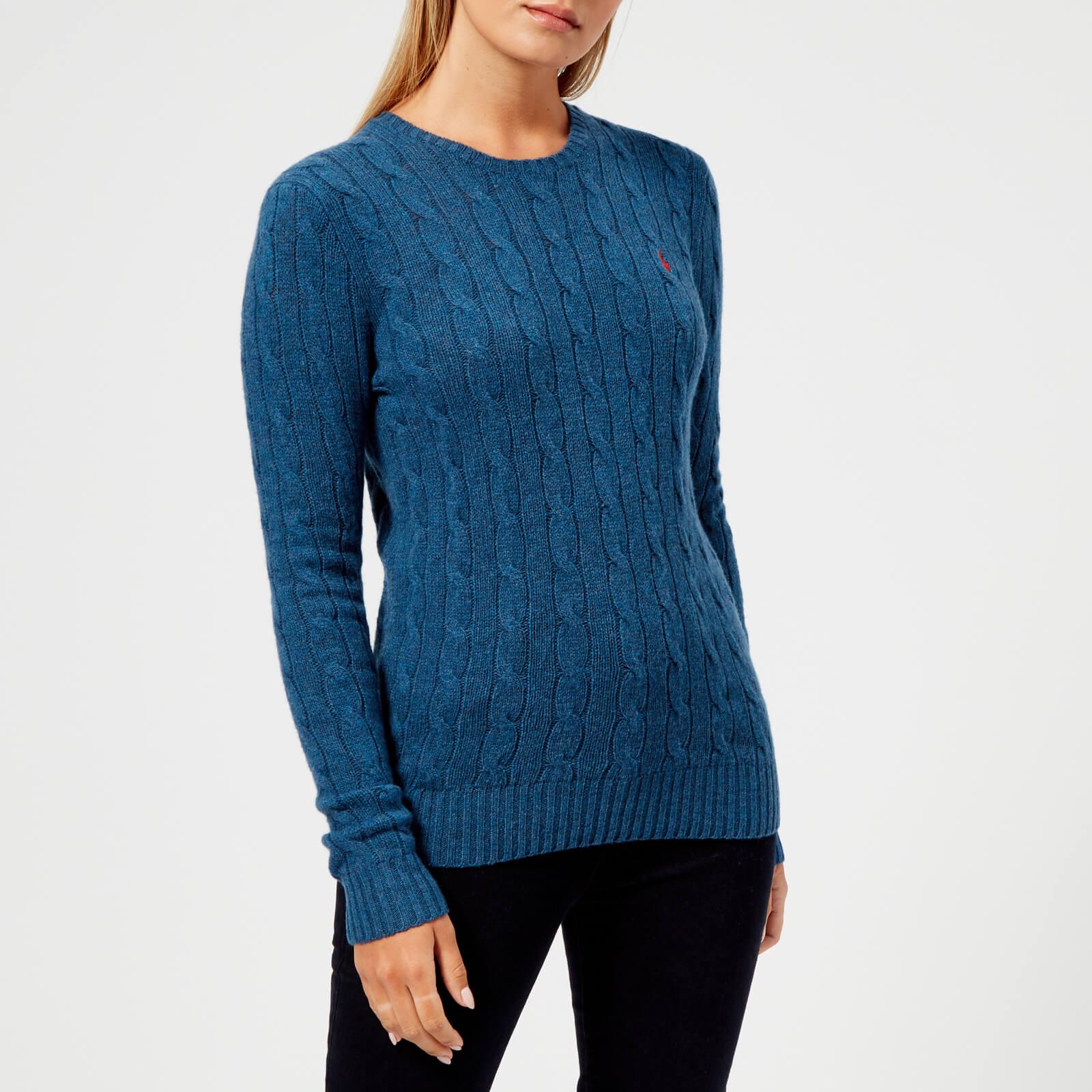 83495e156a82 Polo Ralph Lauren Women's Juliana Jumper - Light Blue - Free UK Delivery  over £50