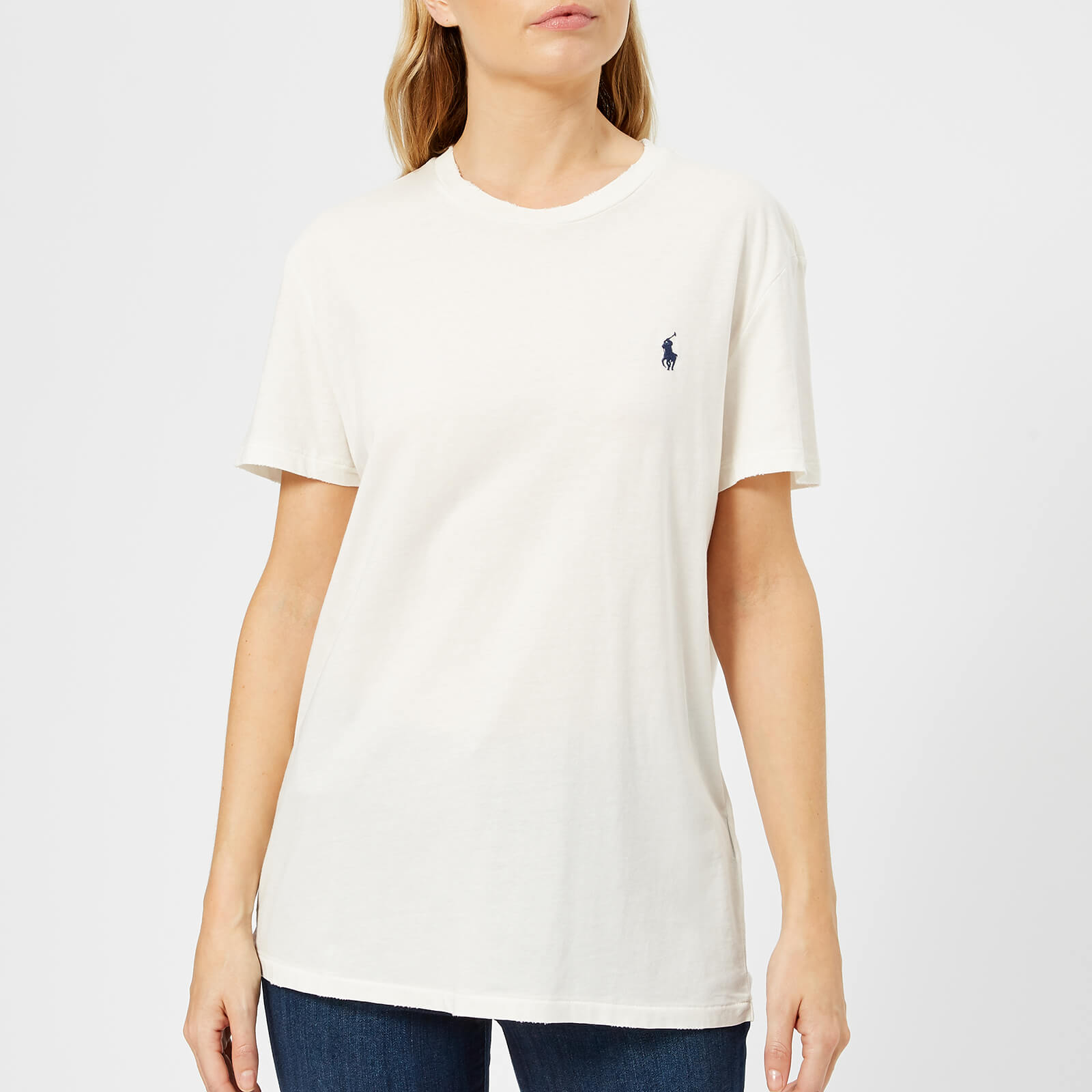 33f5f3895 Polo Ralph Lauren Women's Oversized Logo T-Shirt - Nevis - Free UK Delivery  over £50