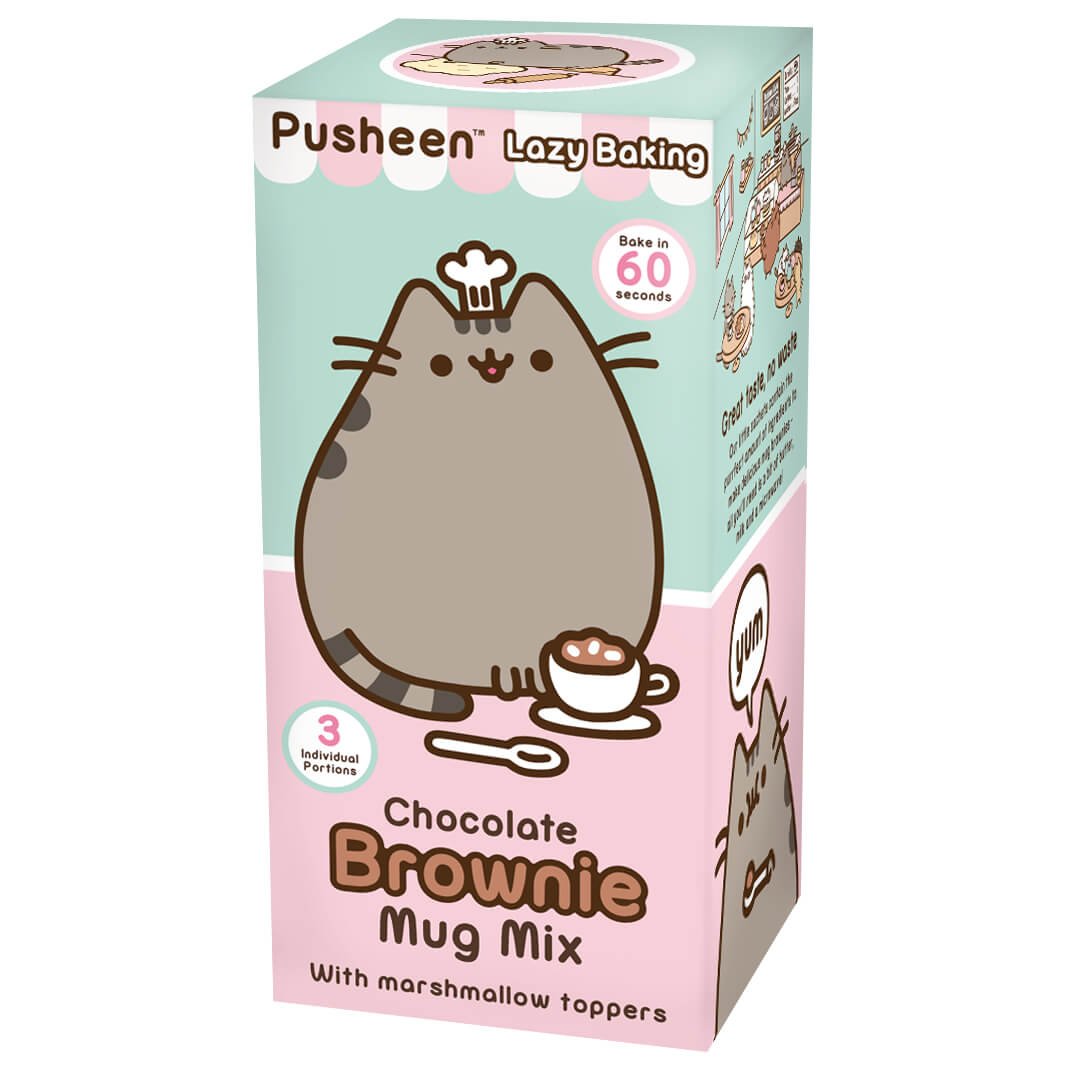 bakedin Pusheen Chocolate Brownie Mug Mix