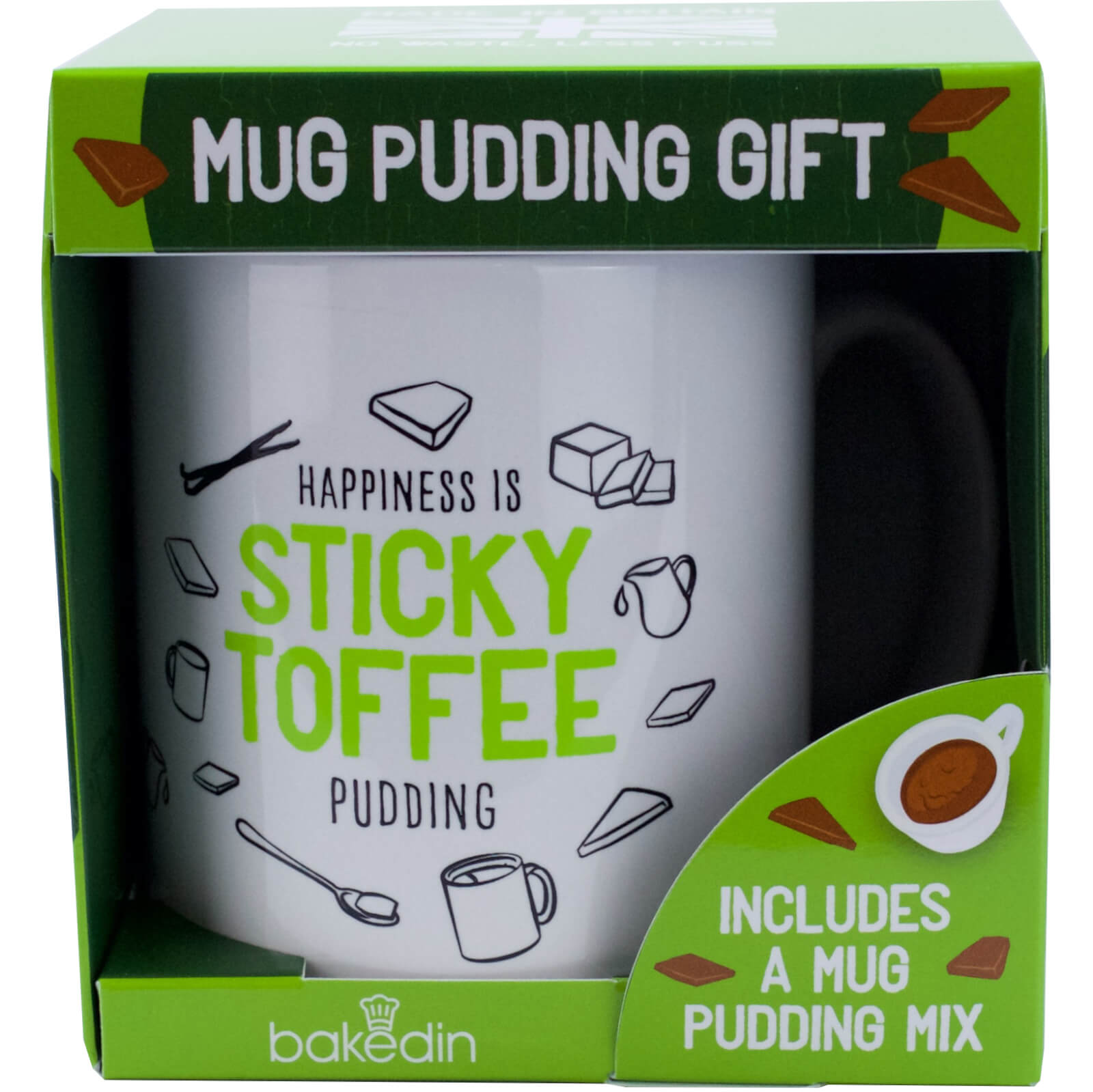 bakedin Sticky Toffee Pudding Mug Gift Set
