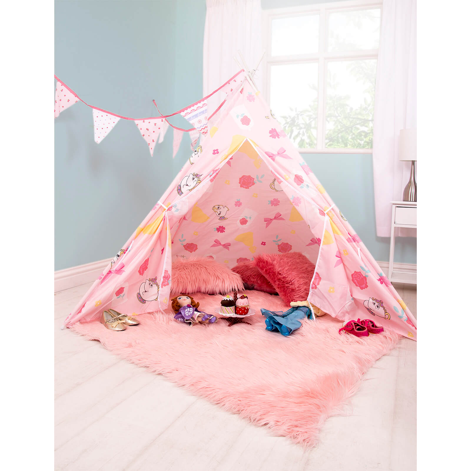 Disney Princess Beauty & The Beast Teepee