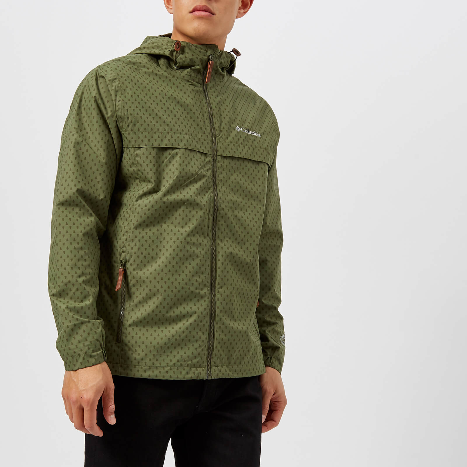 985a94cbdf Columbia Men's Jones Ridge Jacket - Mosstone Print Kleidung | TheHut.de