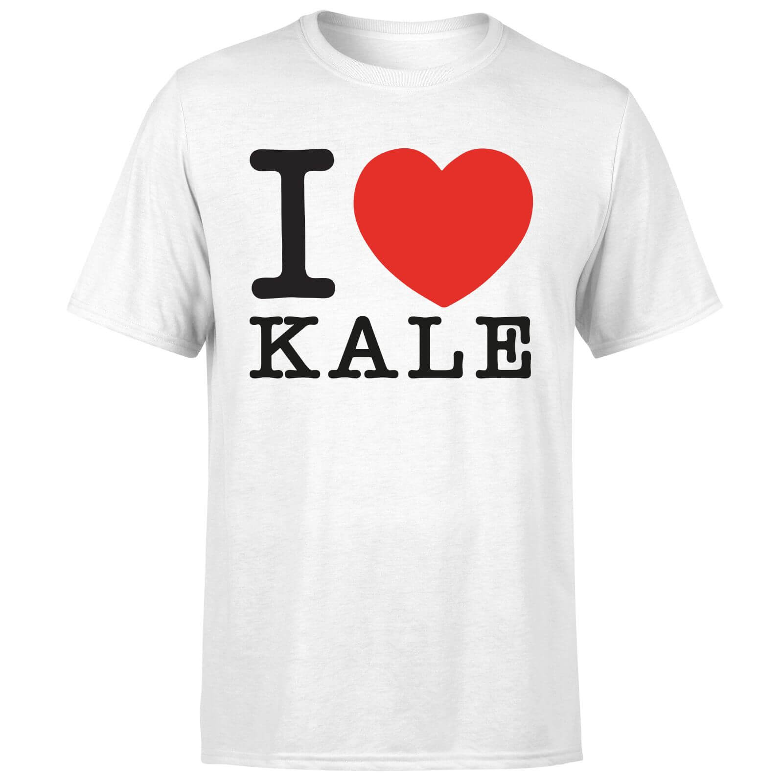 I Heart Kale T-Shirt - White