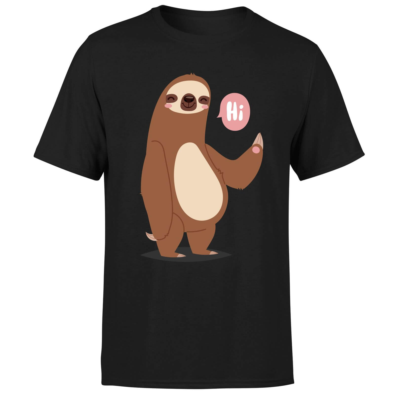 Sloth Hi T-Shirt - Black