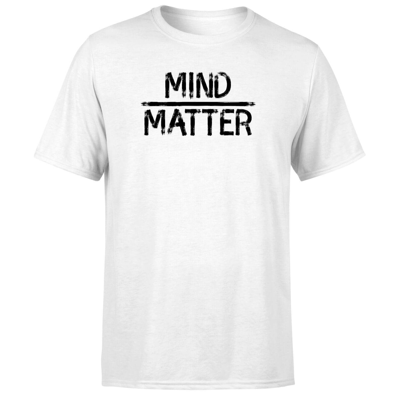 Mind Over Matter T-Shirt - White