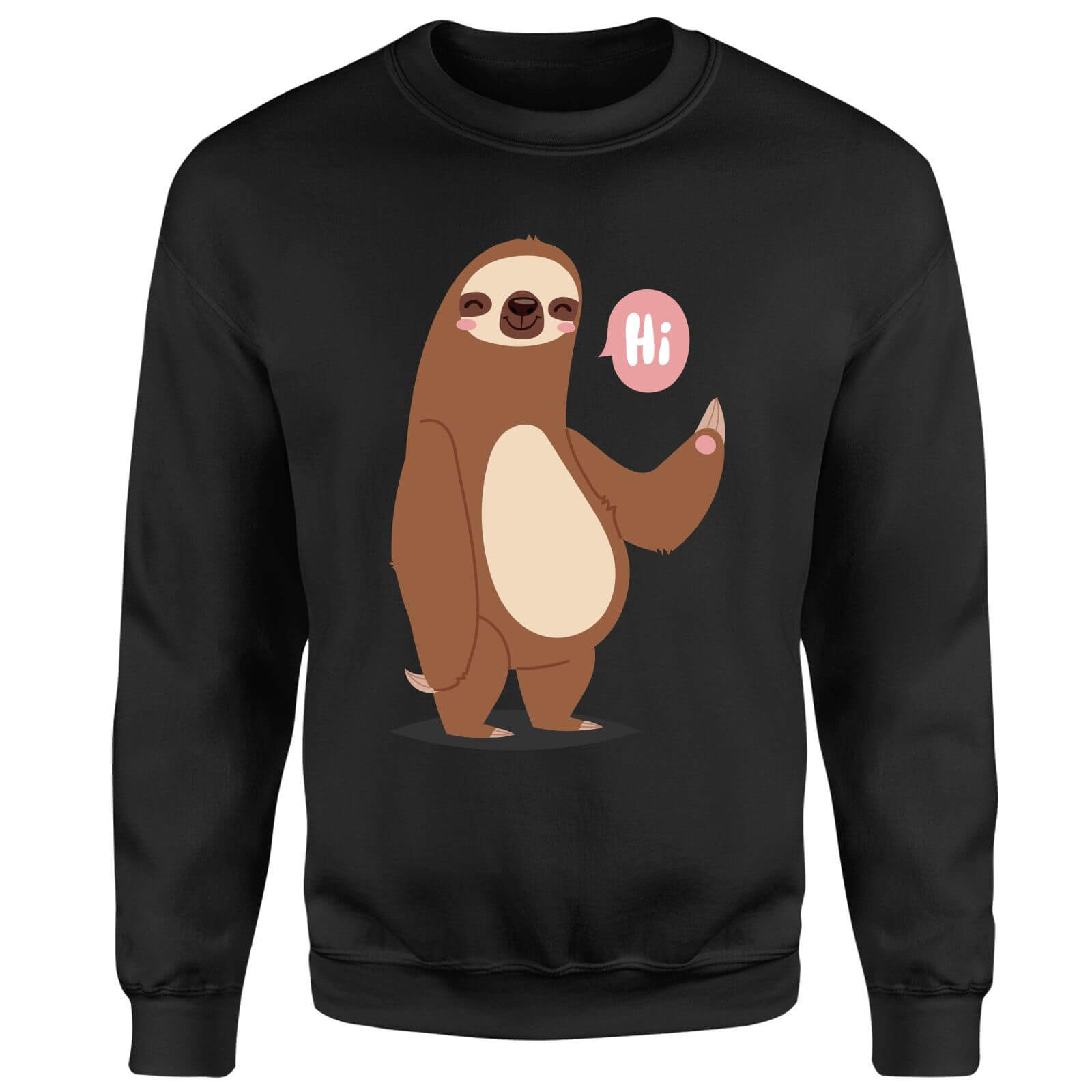 Sloth Hi Sweatshirt - Black
