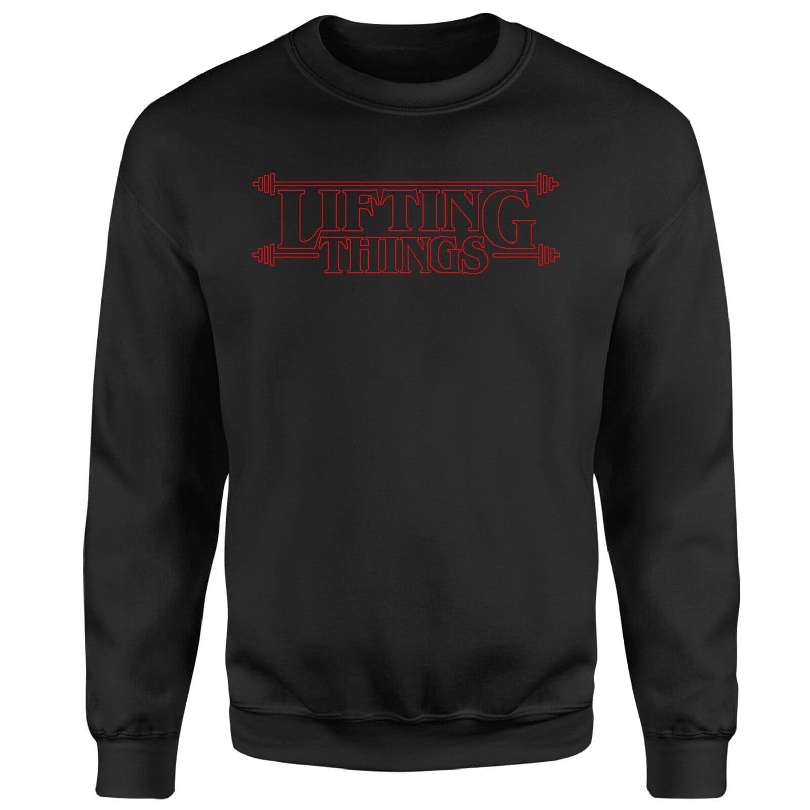 Lifting Things Sweatshirt - Black