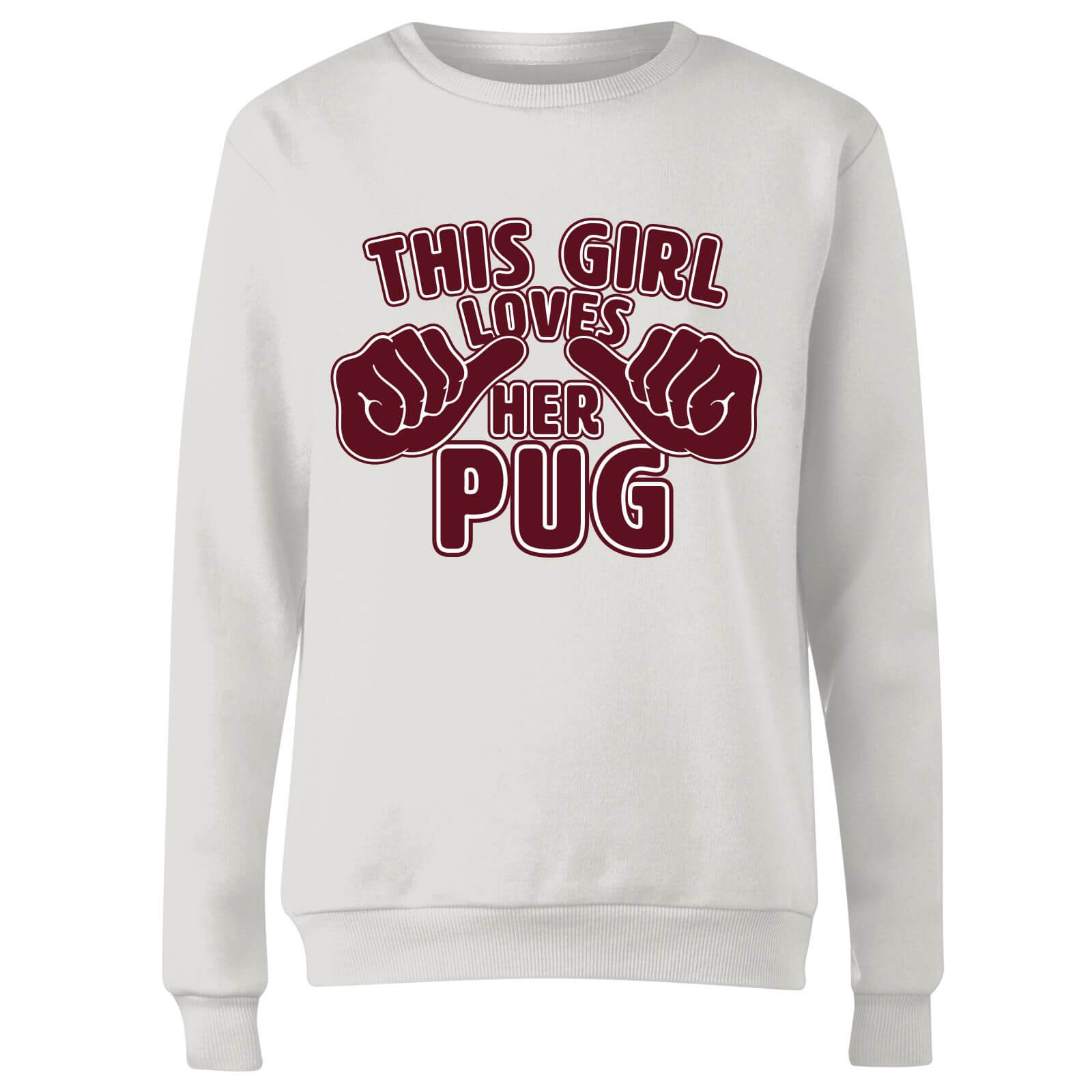 This Girl Loves Her Pug Women