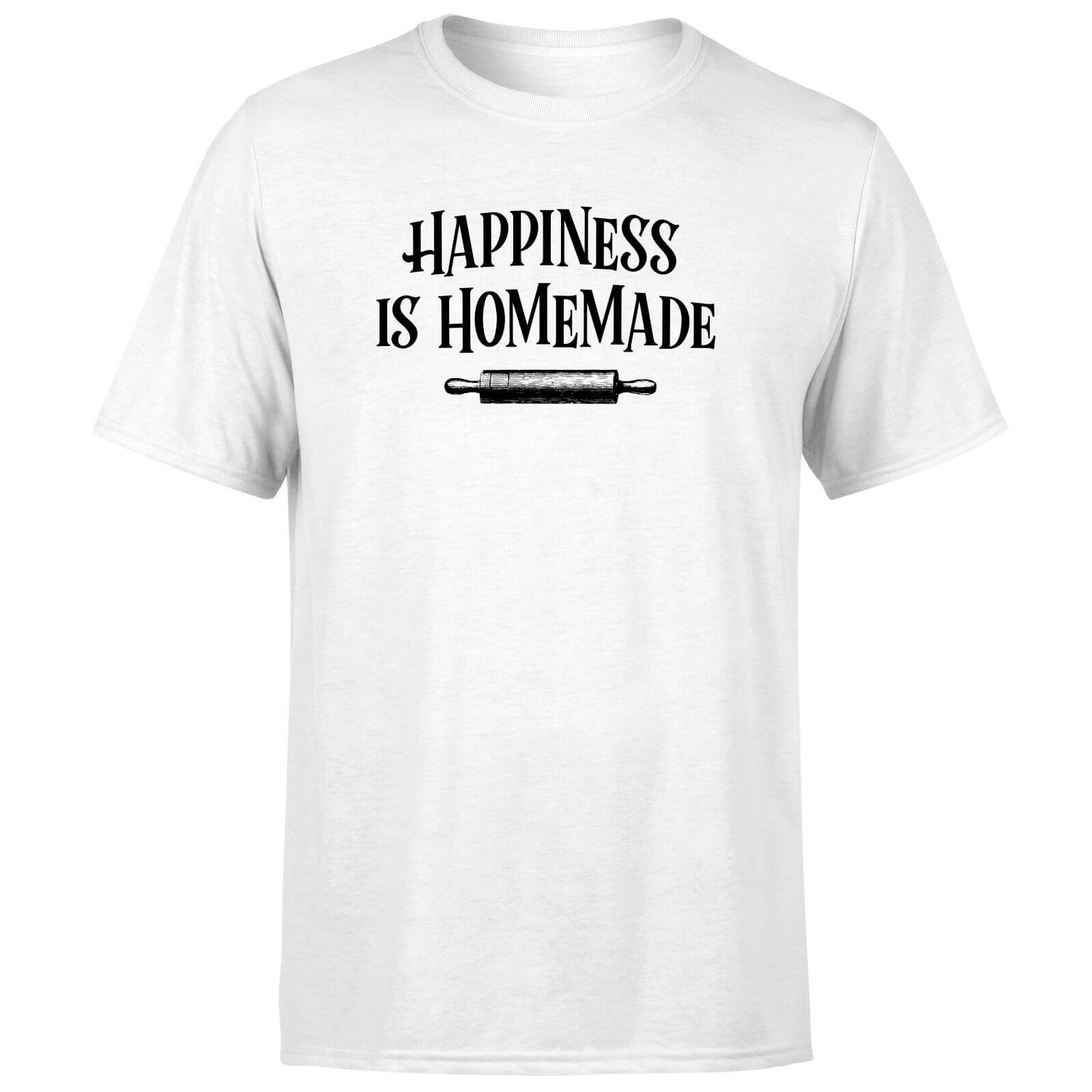 Happiness Is Homemade T-Shirt - White