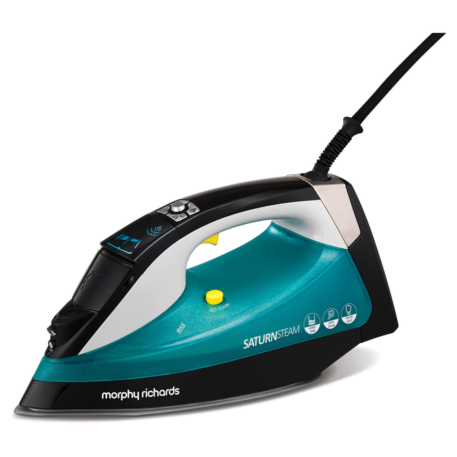 Morphy Richards Saturn Steam Iron - Black/Green