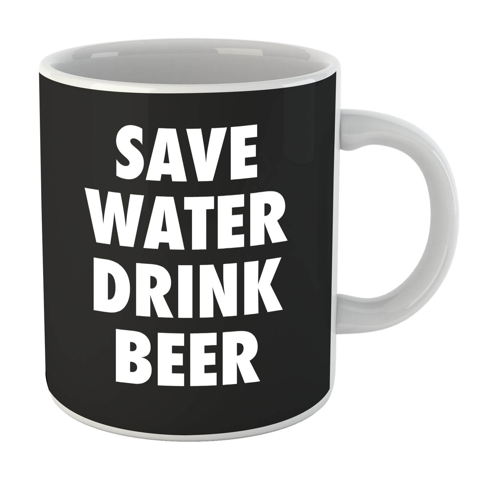 Beershield Save Water Drink Beer Mug