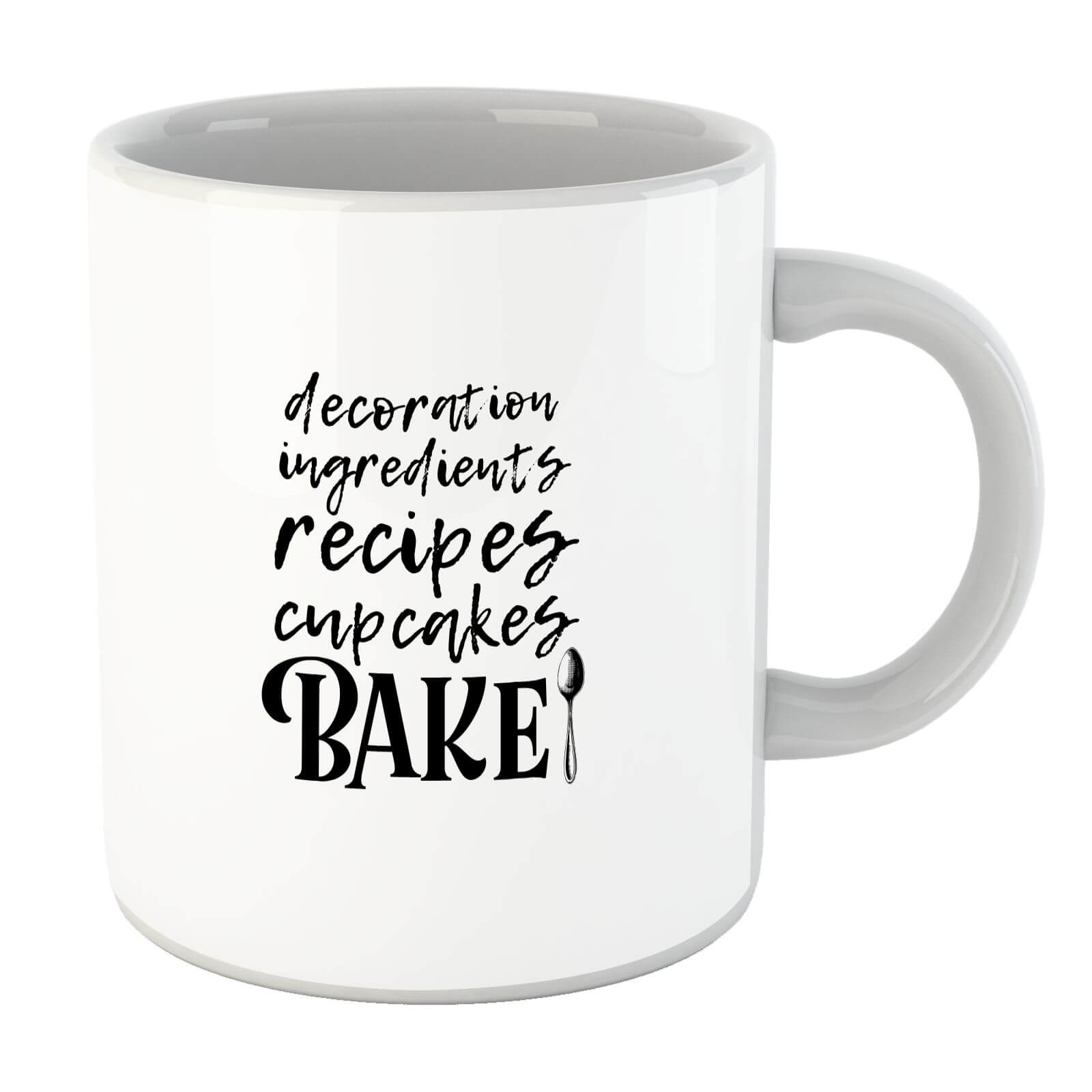 Baking Words Mug