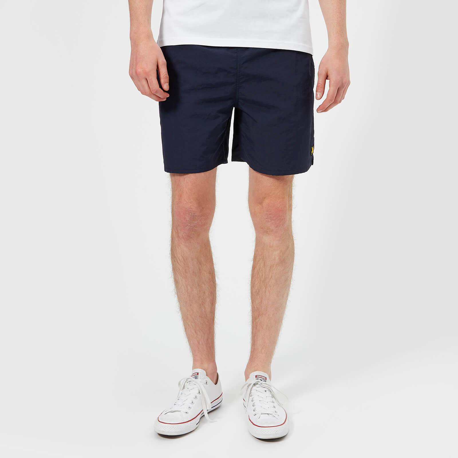dd9c148cb7 Lyle & Scott Men's Plain Swim Shorts - Navy Mens Underwear | TheHut.com