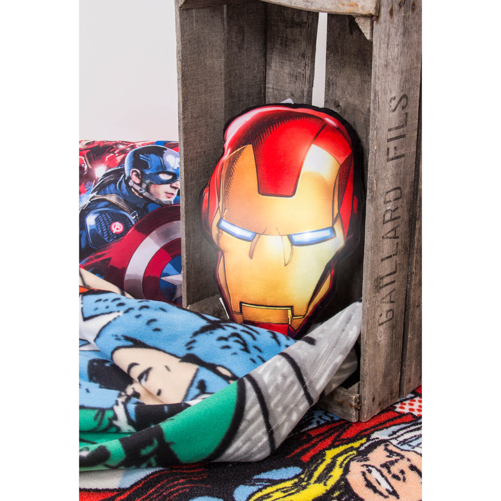 Marvel Avengers Iron Man LED Cushion