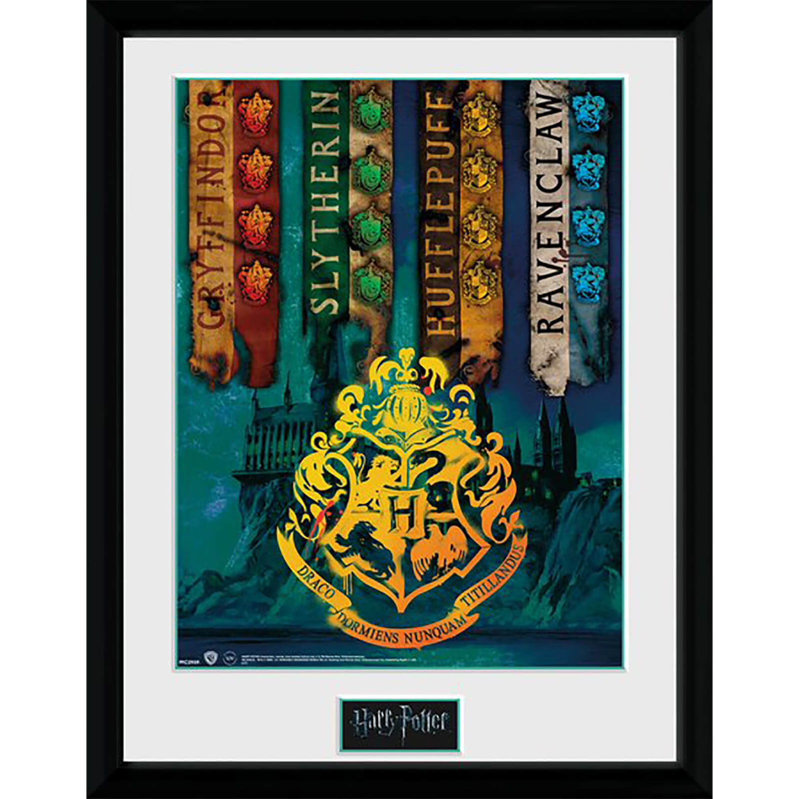 Harry Potter House Flags Collector