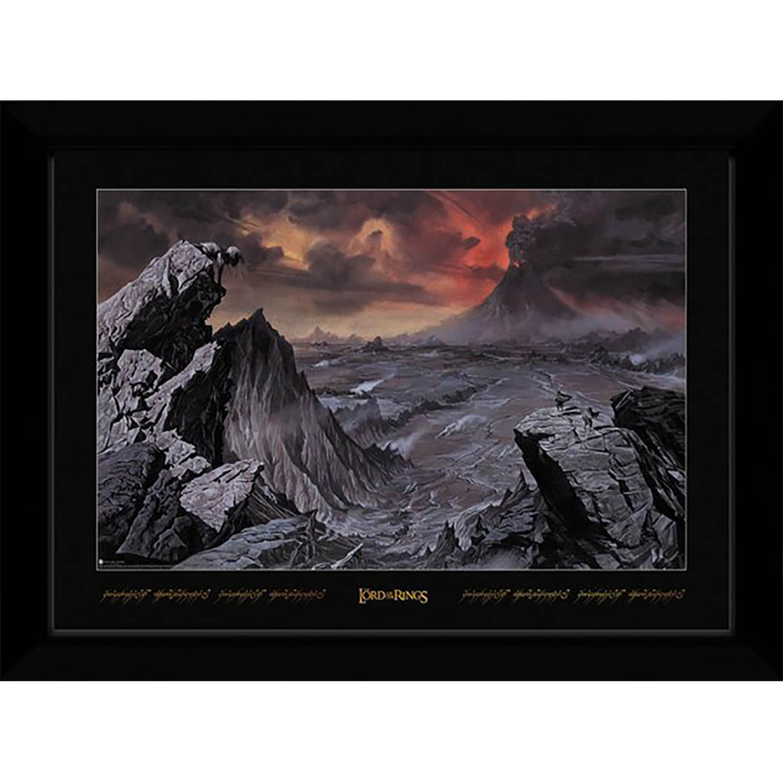 Lord of The Rings Mount Doom Collector