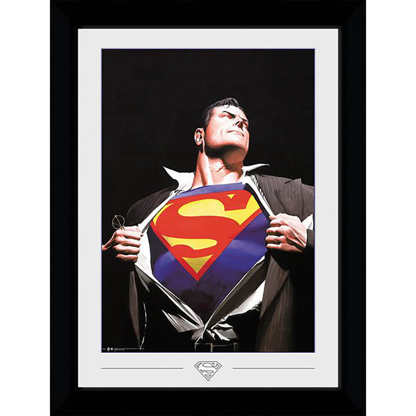 DC Comics Superman Ross Collector 50 x 70cm Framed Photograph