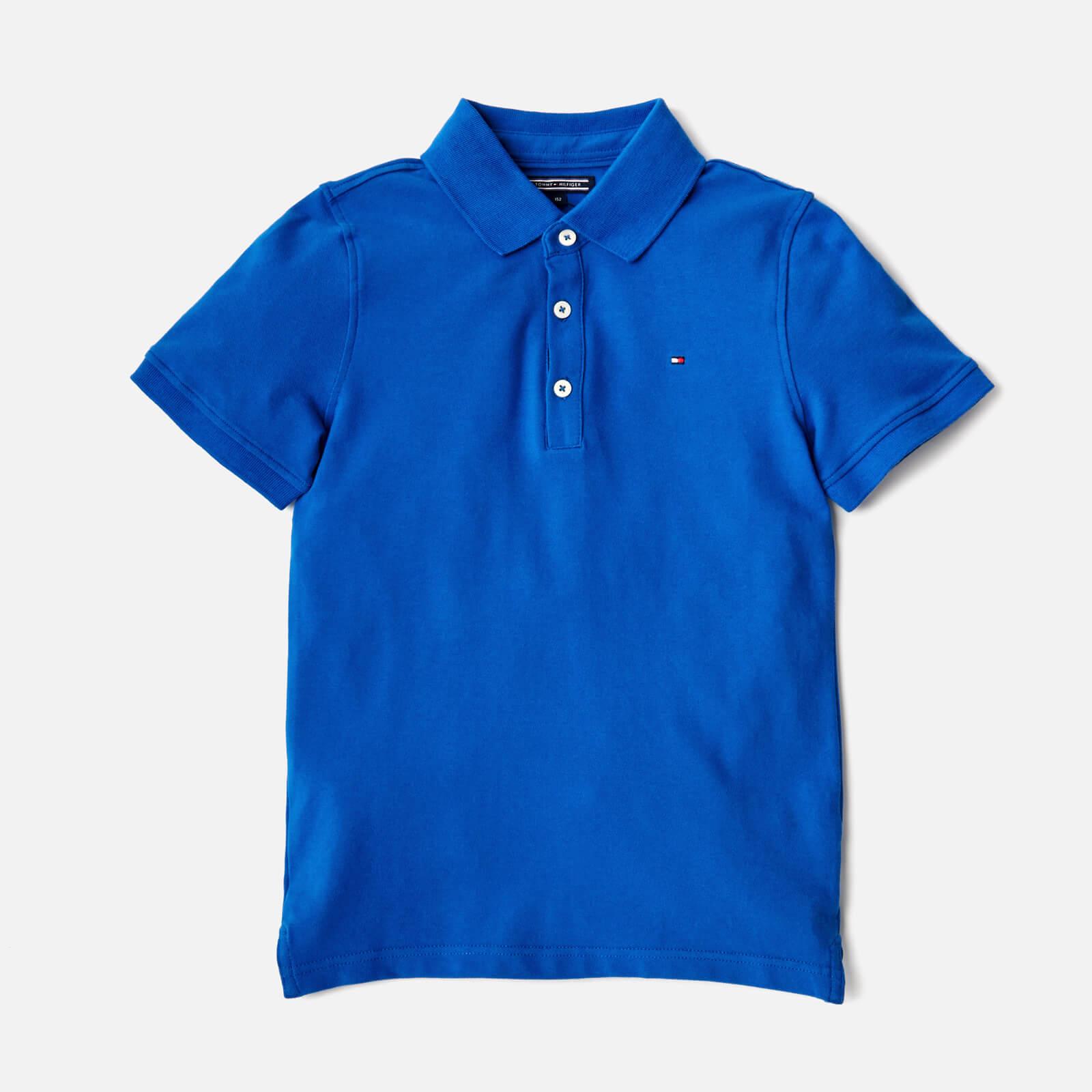 f9b76918 Tommy Hilfiger Boys' Polo Shirt - Nautical Blue Clothing | TheHut.com