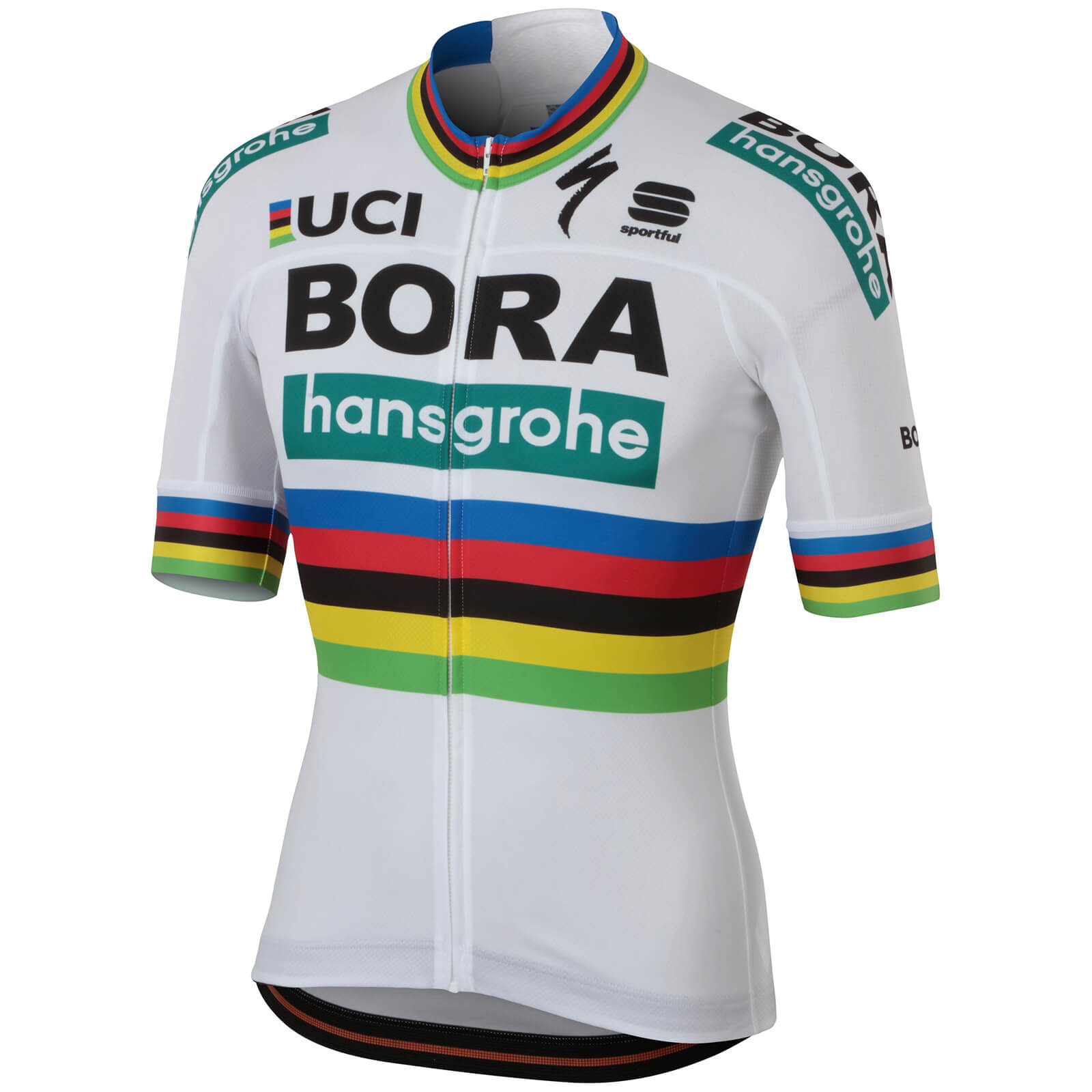 Sportful Bora Hansgrohe BodyFit Team Jersey - Word Champion Edition ... cfa8d4190