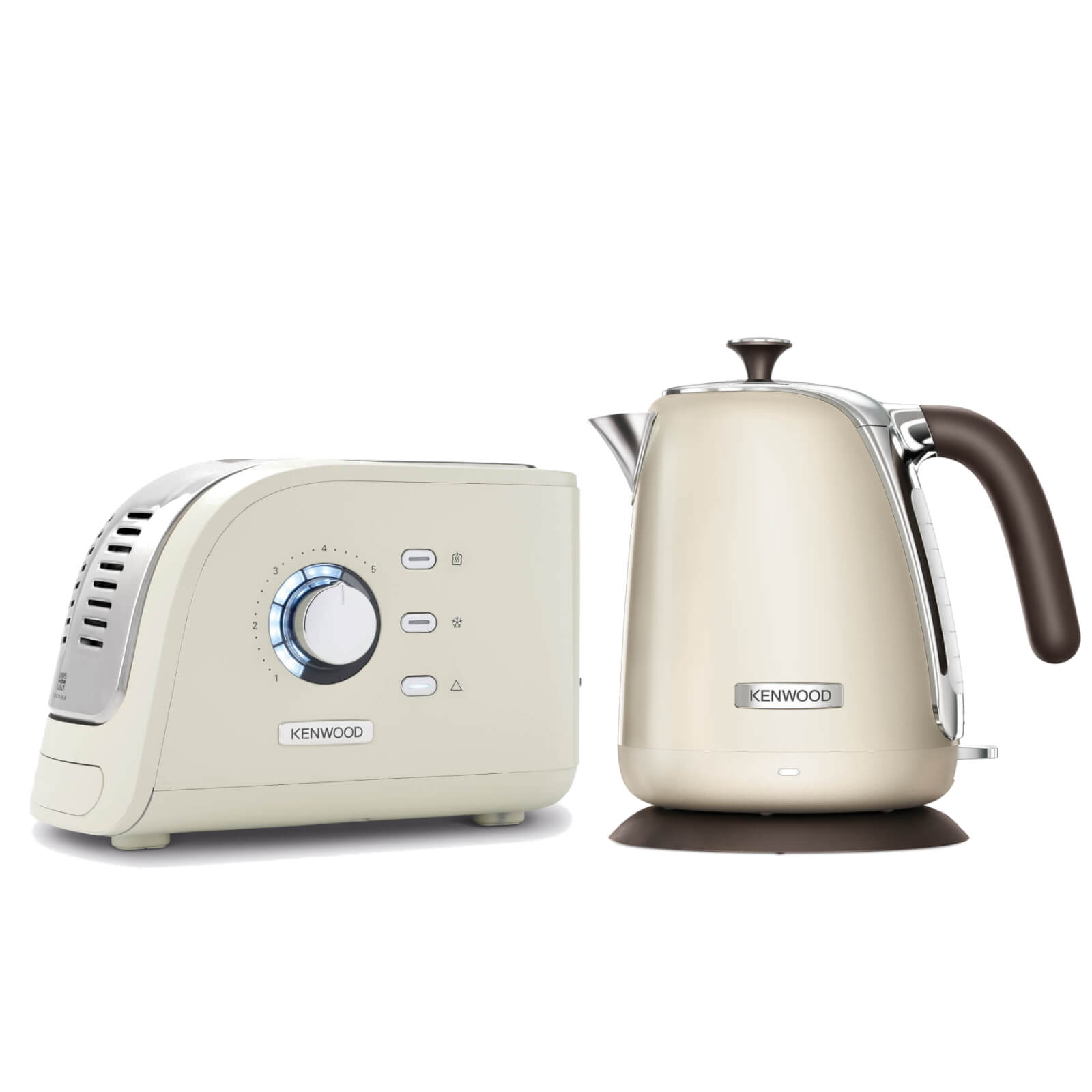 Kenwood Turbo Collection Kettle and Toaster Bundle - Cream