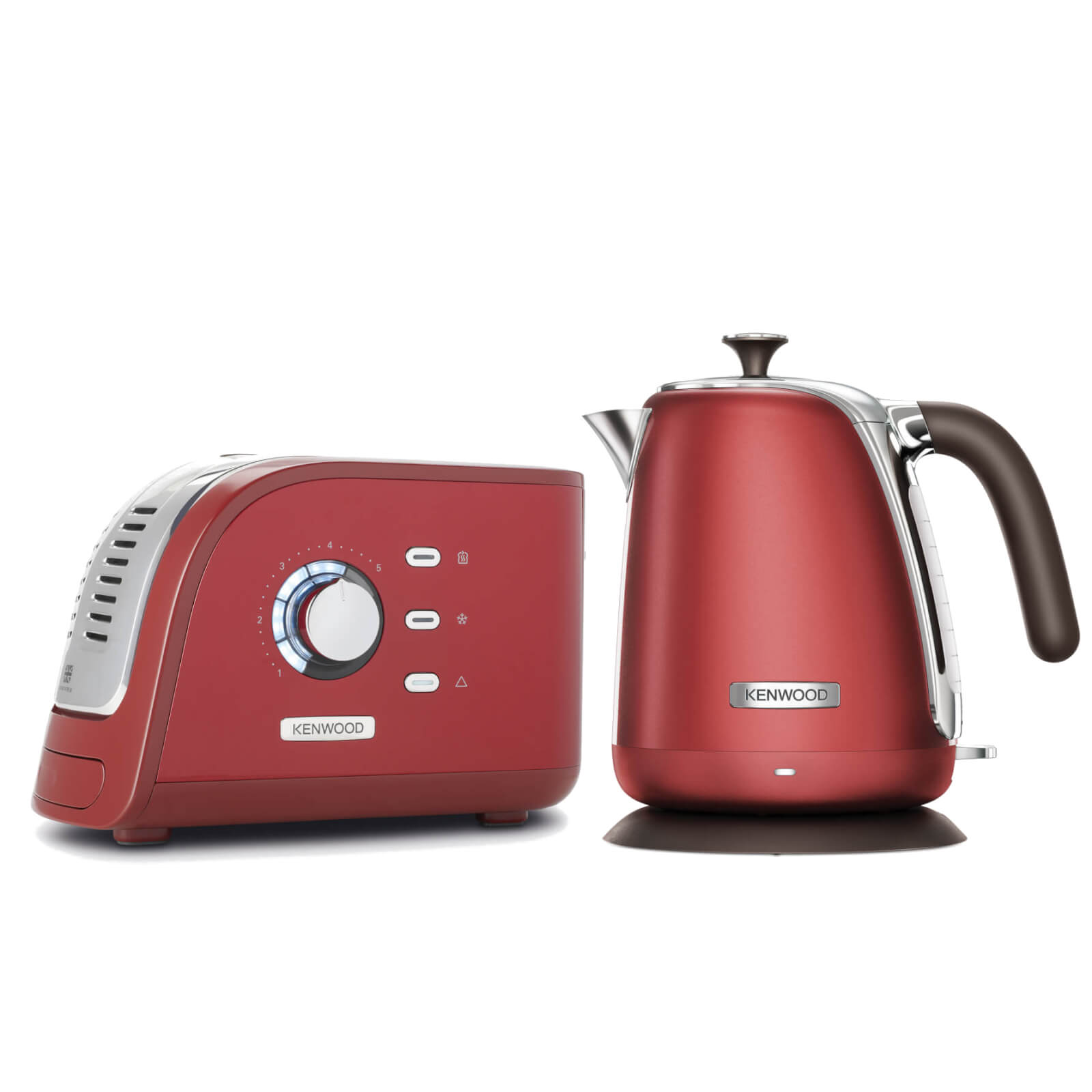 Kenwood Turbo Collection Kettle and Toaster Bundle - Red