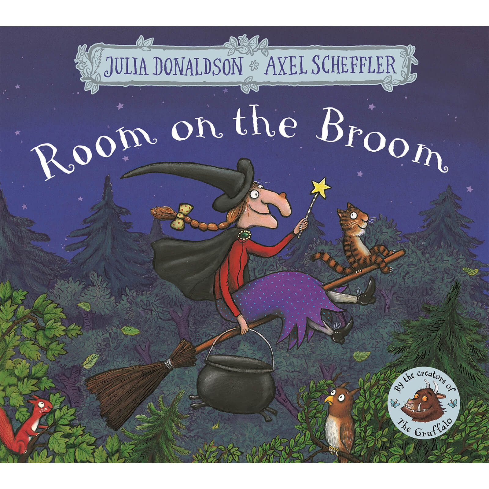 Room on The Broom - Julia Donaldson (Paperback)