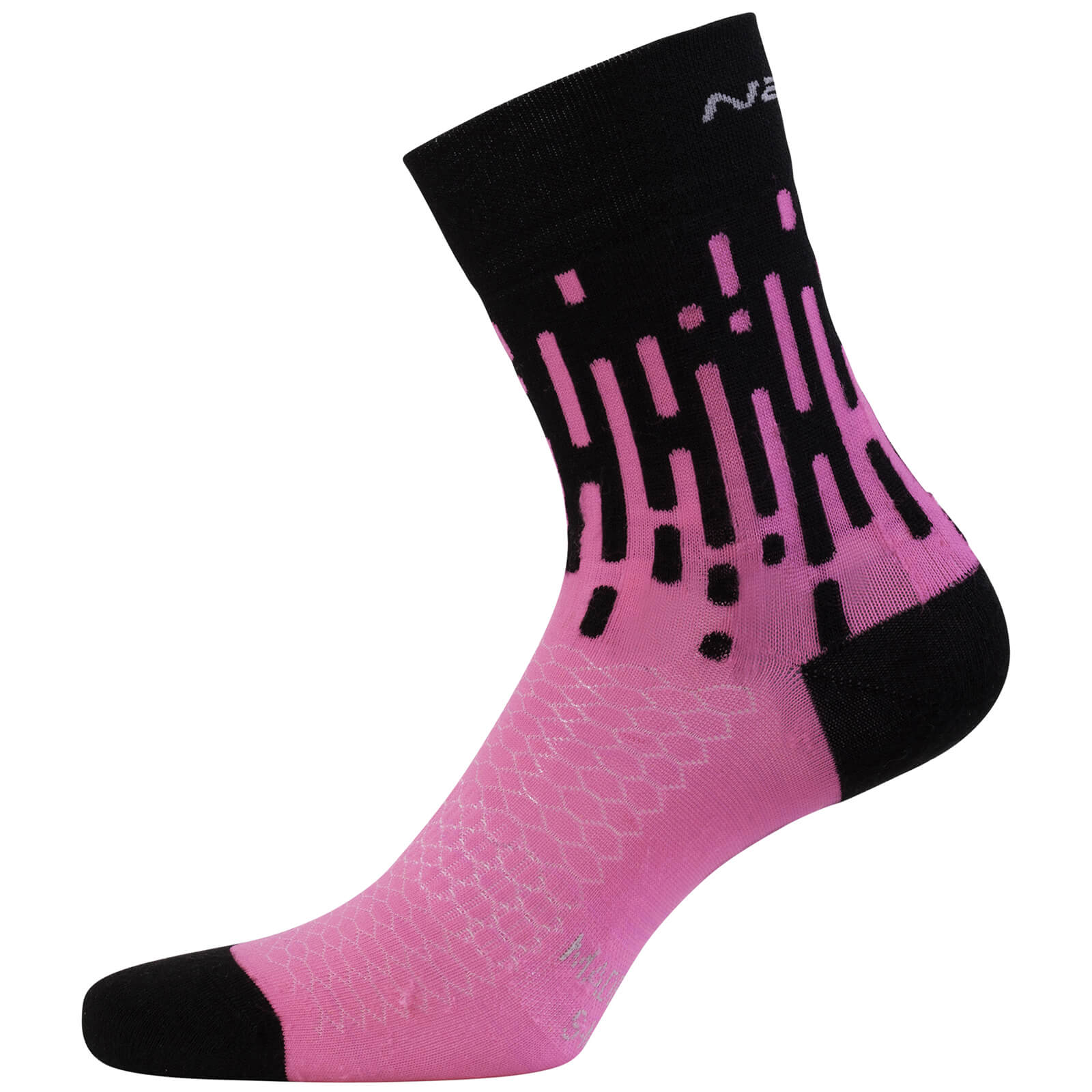 Nalini Tornado Lady Socks - Pink/Black