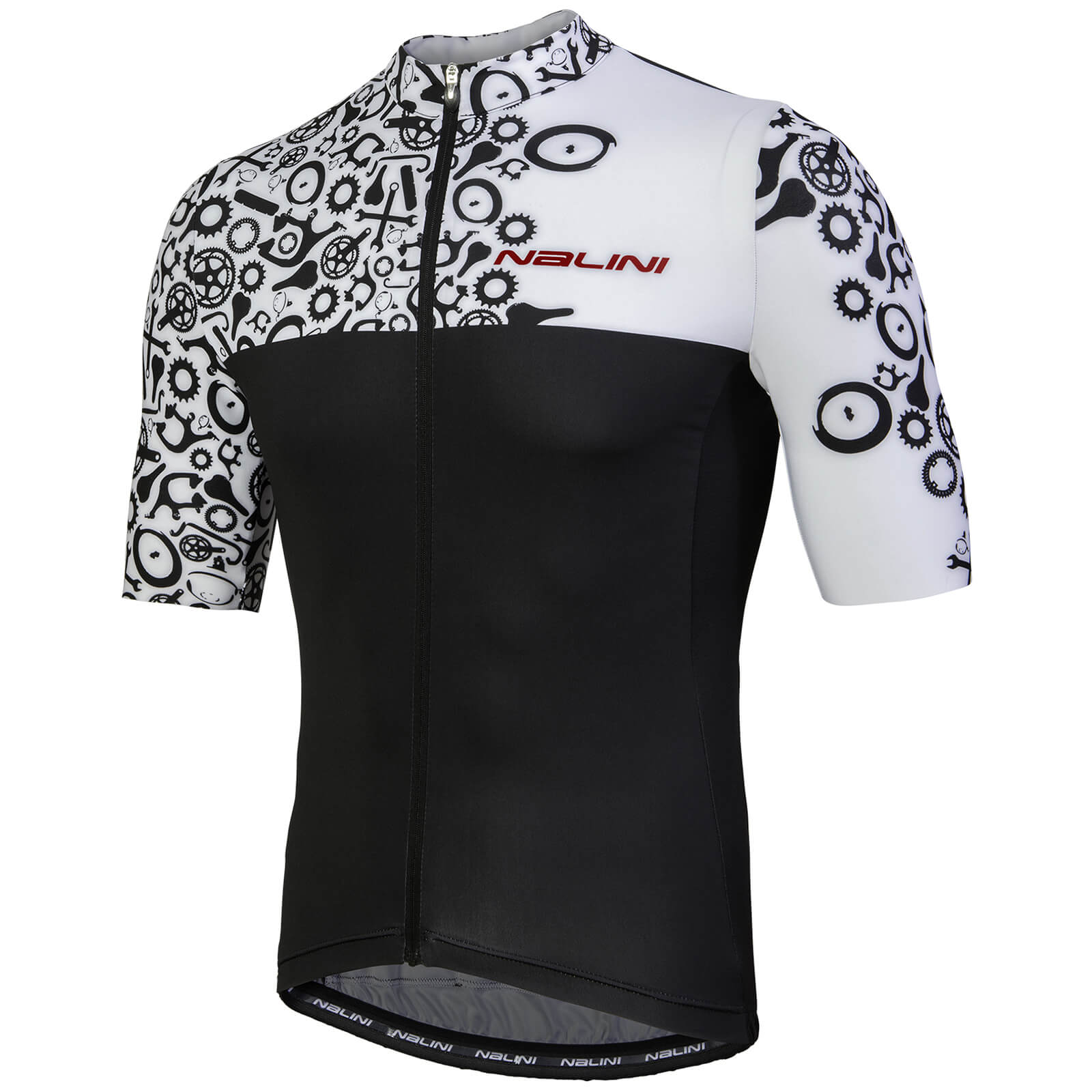 BRAND NEW 3XL Short Sleeve Cycling Jersey  1//2 Length Zipper Jersey by Squadra