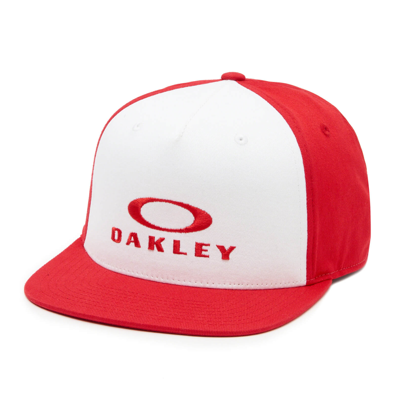 Oakley Silver 110 Flex Fit Cap - Red Line