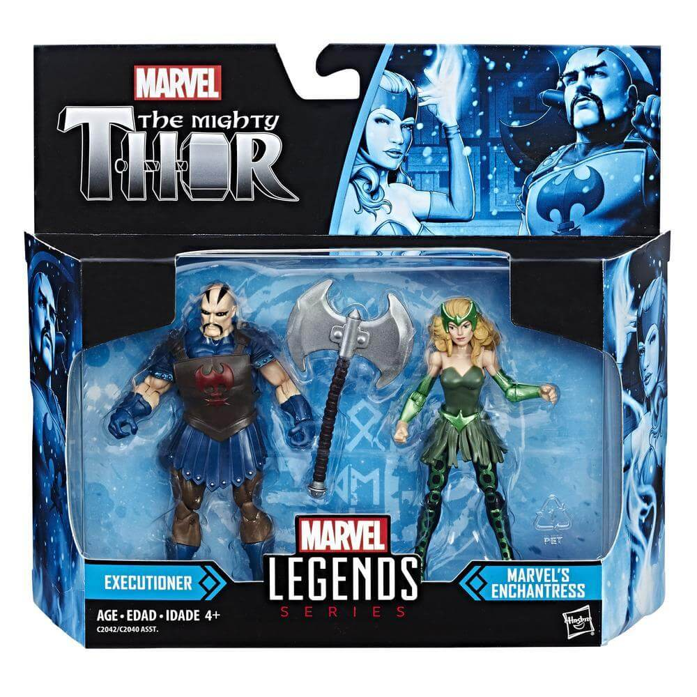 Marvel Legends The Mighty Thor Action Figure Pack - Executioner and Marvel