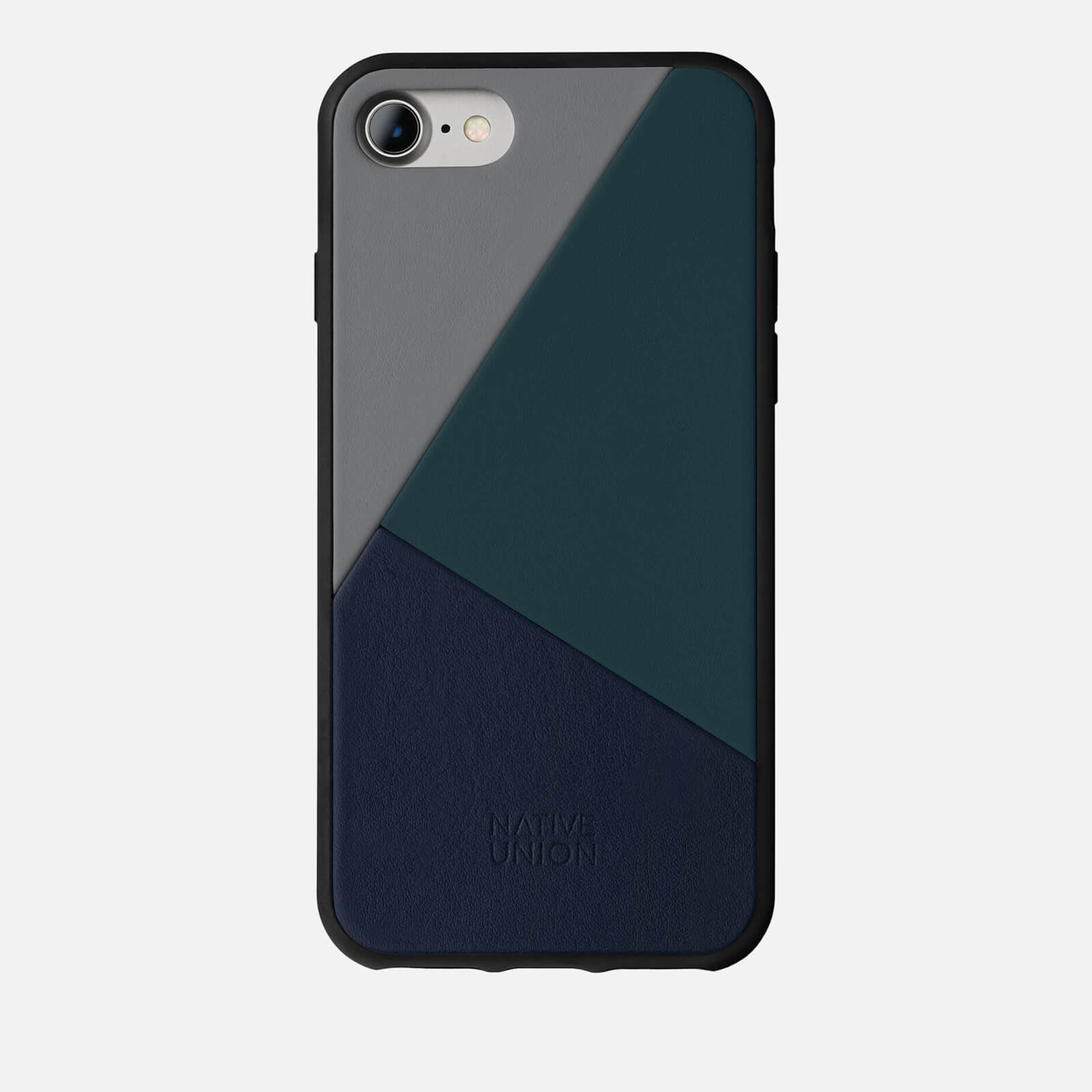 separation shoes 8c01f 98b90 Native Union Clic Marquetry - iPhone 7/8 Case - Petrol Blue