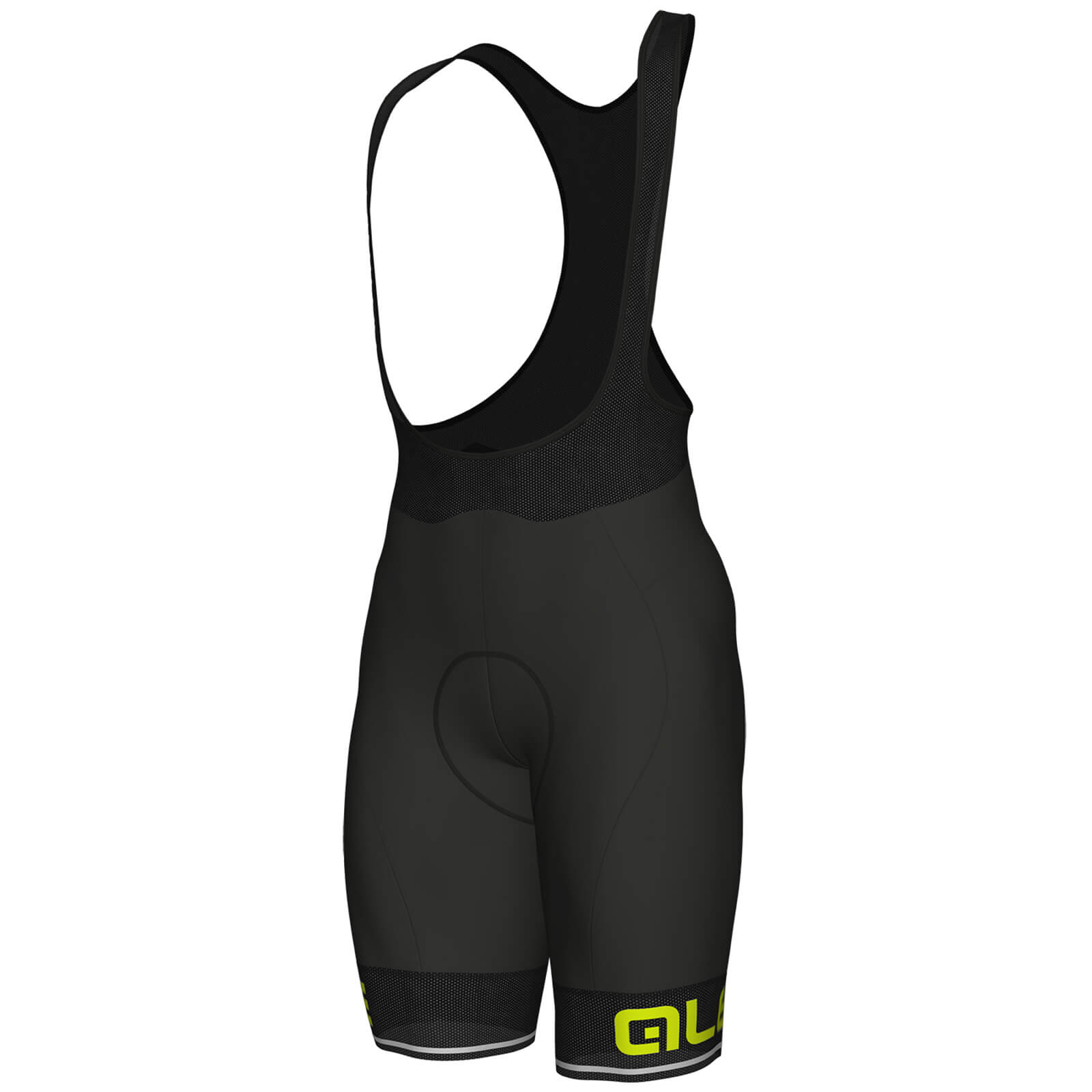 Alé Cora Bib Shorts - Black/Yellow
