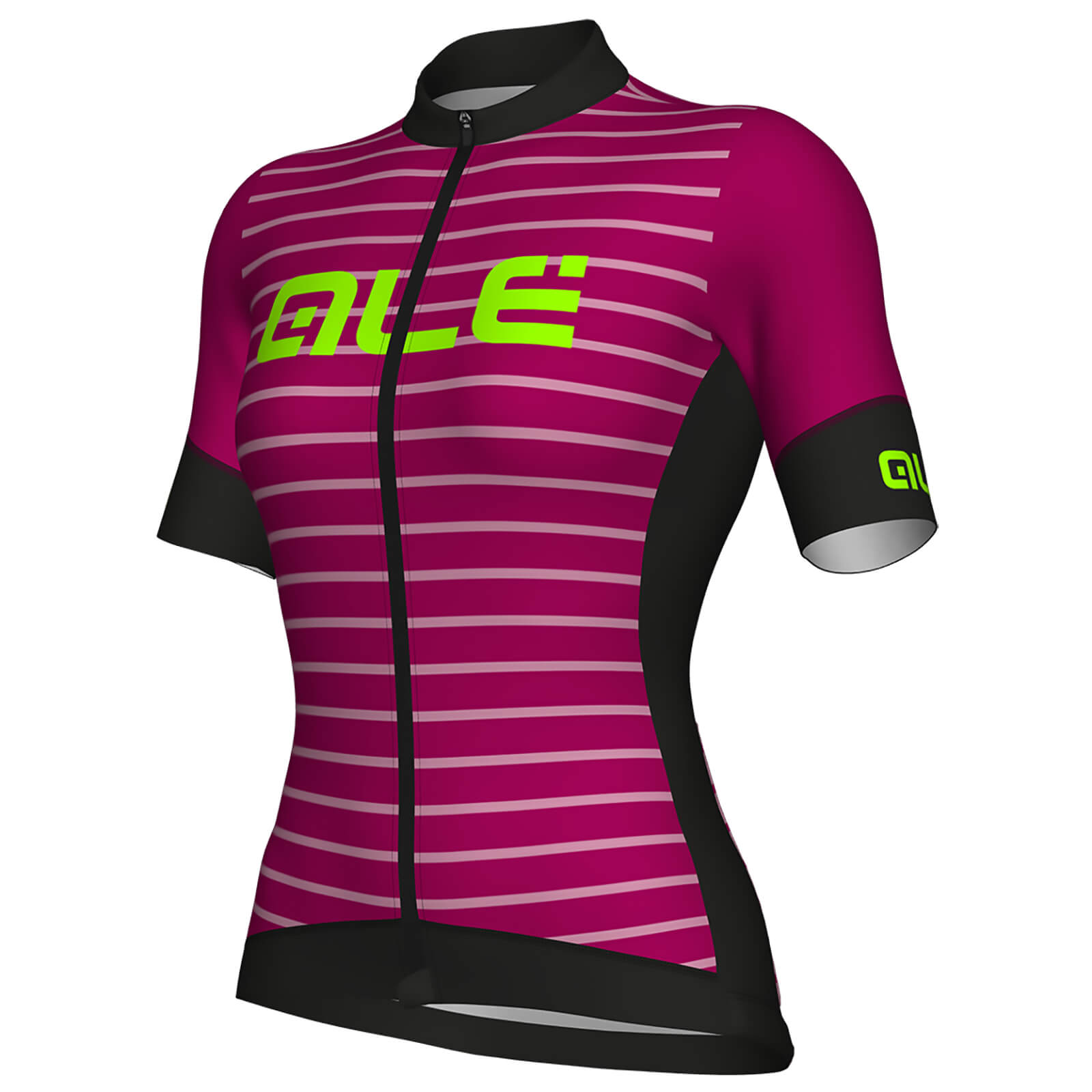 Alé Women's R-EV1 Marina Jersey - Black/Purple | Jerseys