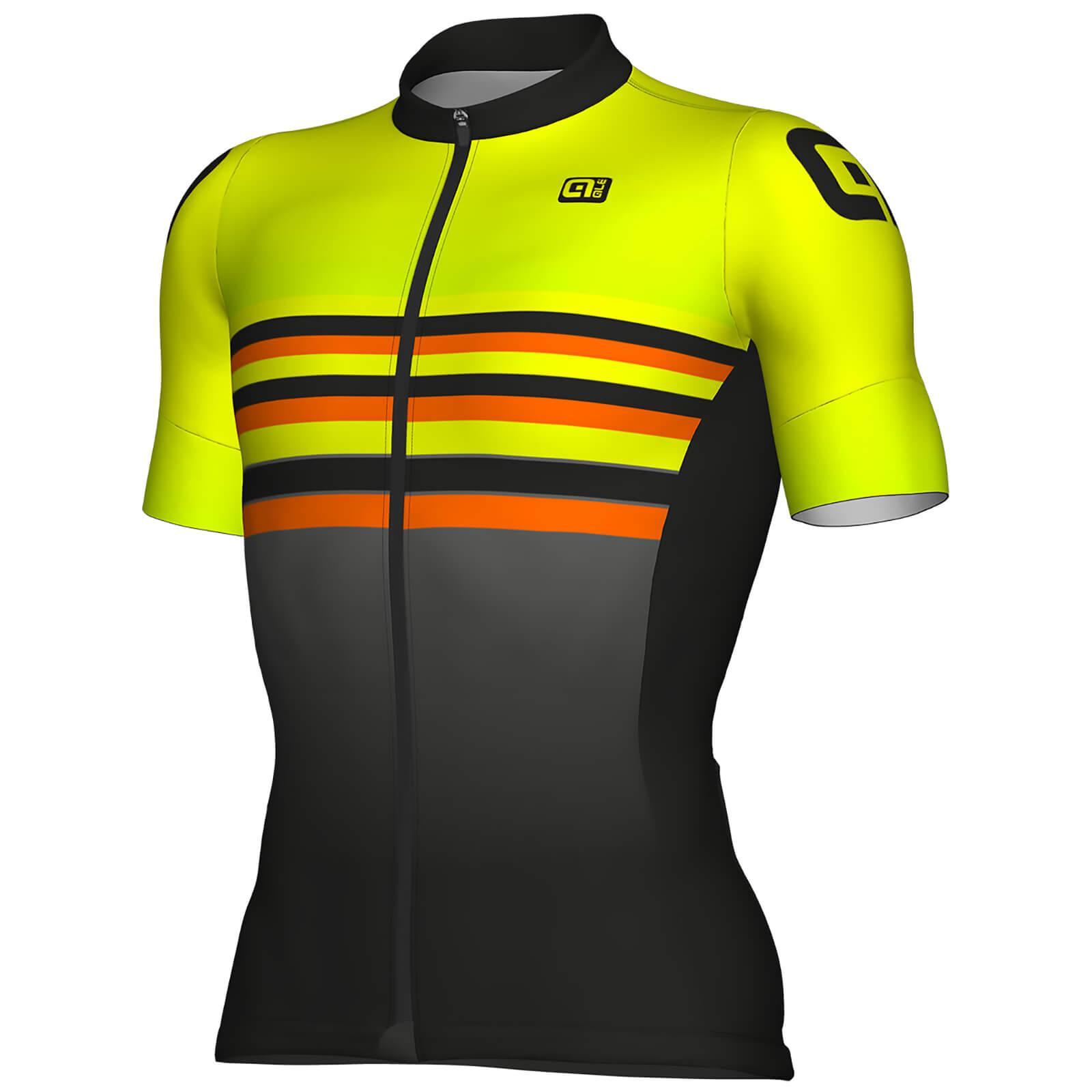 Alé Formula 1.0 Stripes Jersey - Black/Yellow | Trøjer