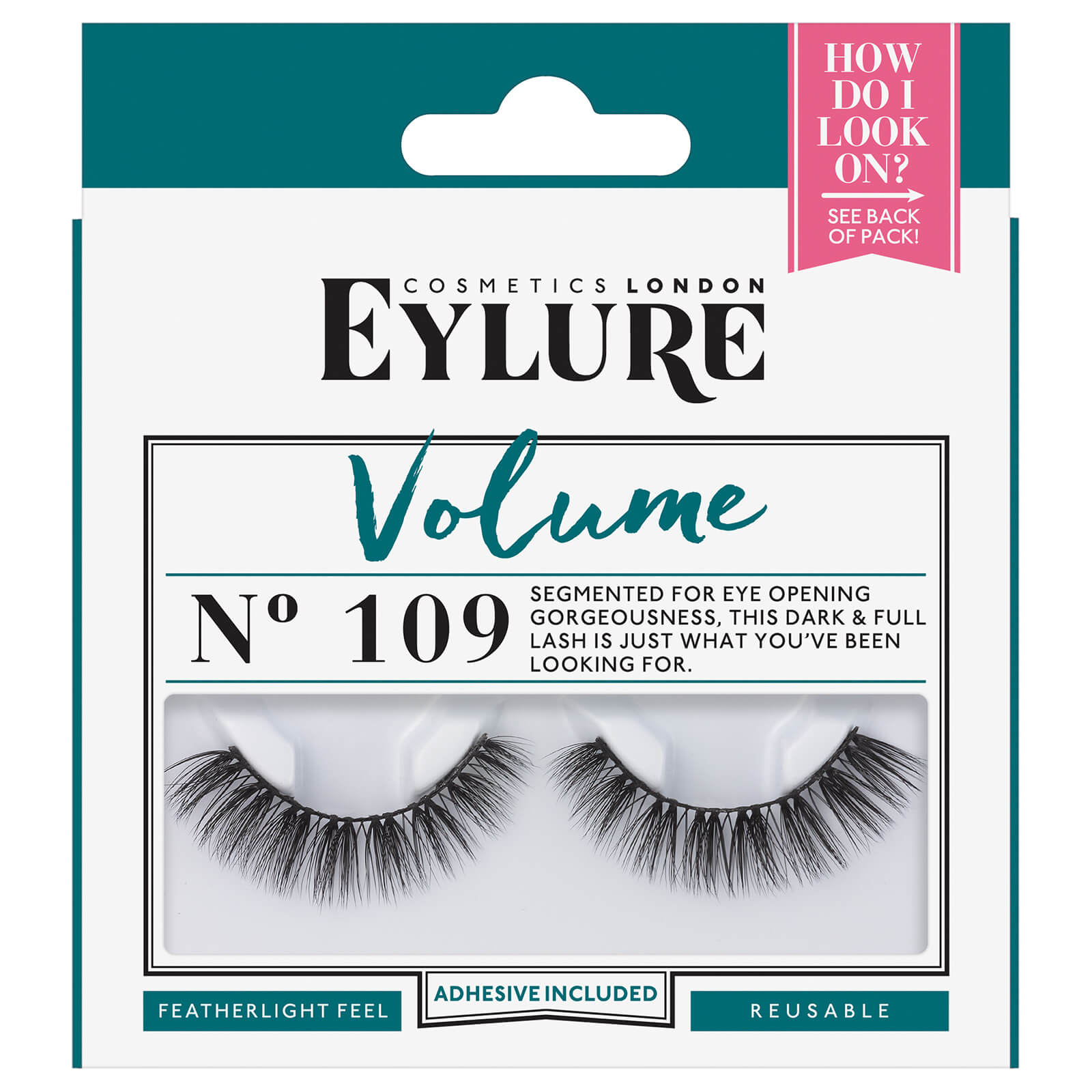e6270f3f29b Eylure Volume No.109 Lashes | Free US Shipping | lookfantastic