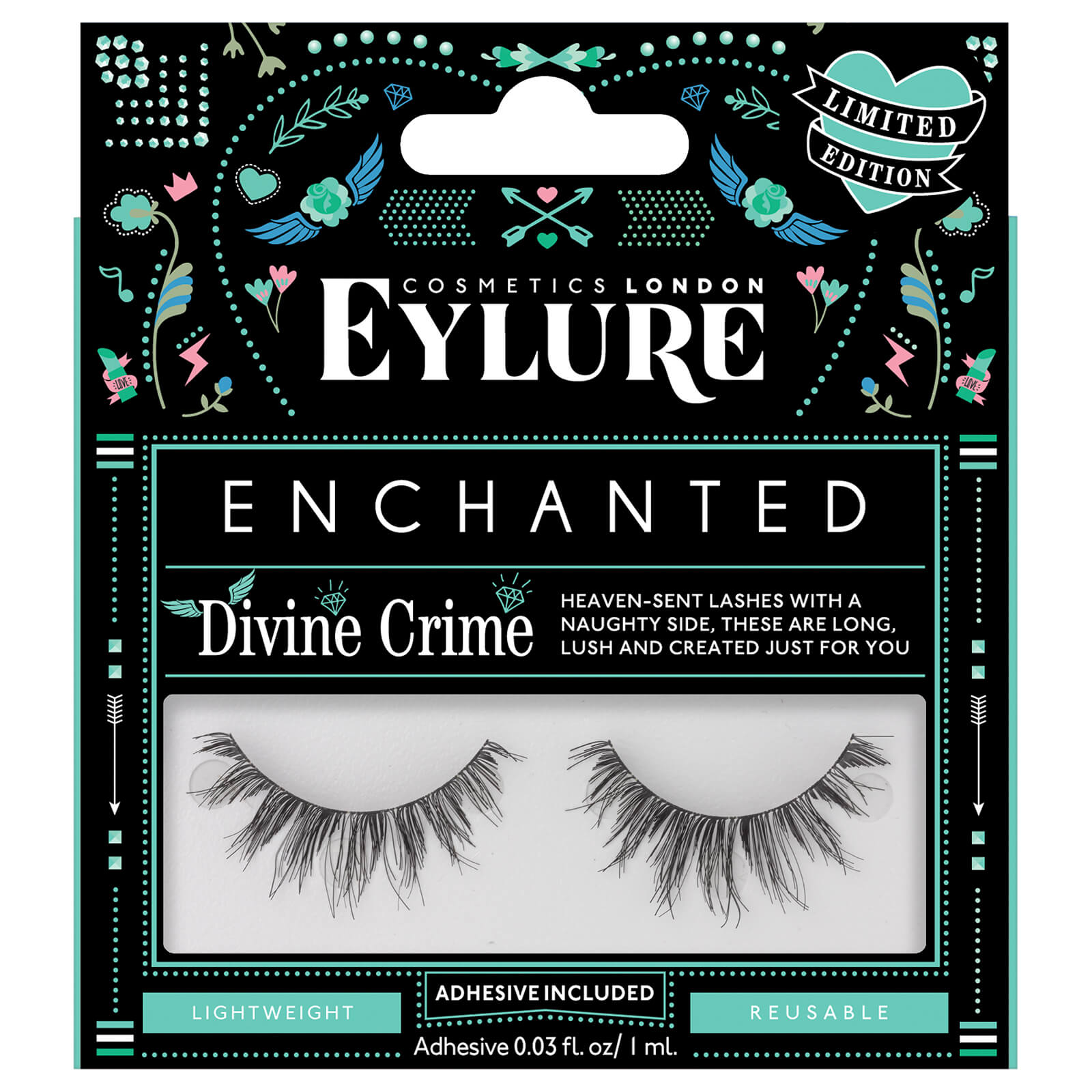 Eylure Enchanted Lashes - Divine Crime