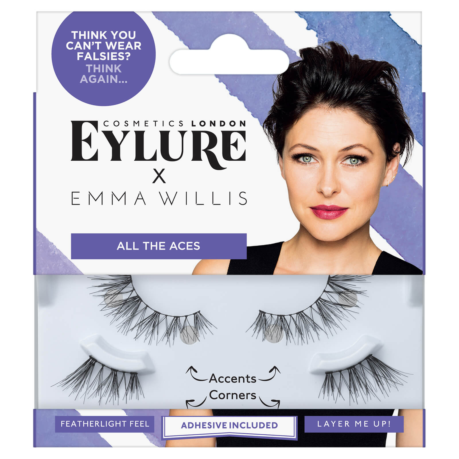 48117644fcf Eylure Emma Willis Lashes - All The Aces | Free Shipping | Lookfantastic