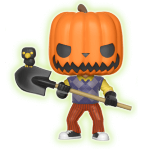 Hello Neighbor Pumpkin Head GITD EXC Pop! Vinyl Figure
