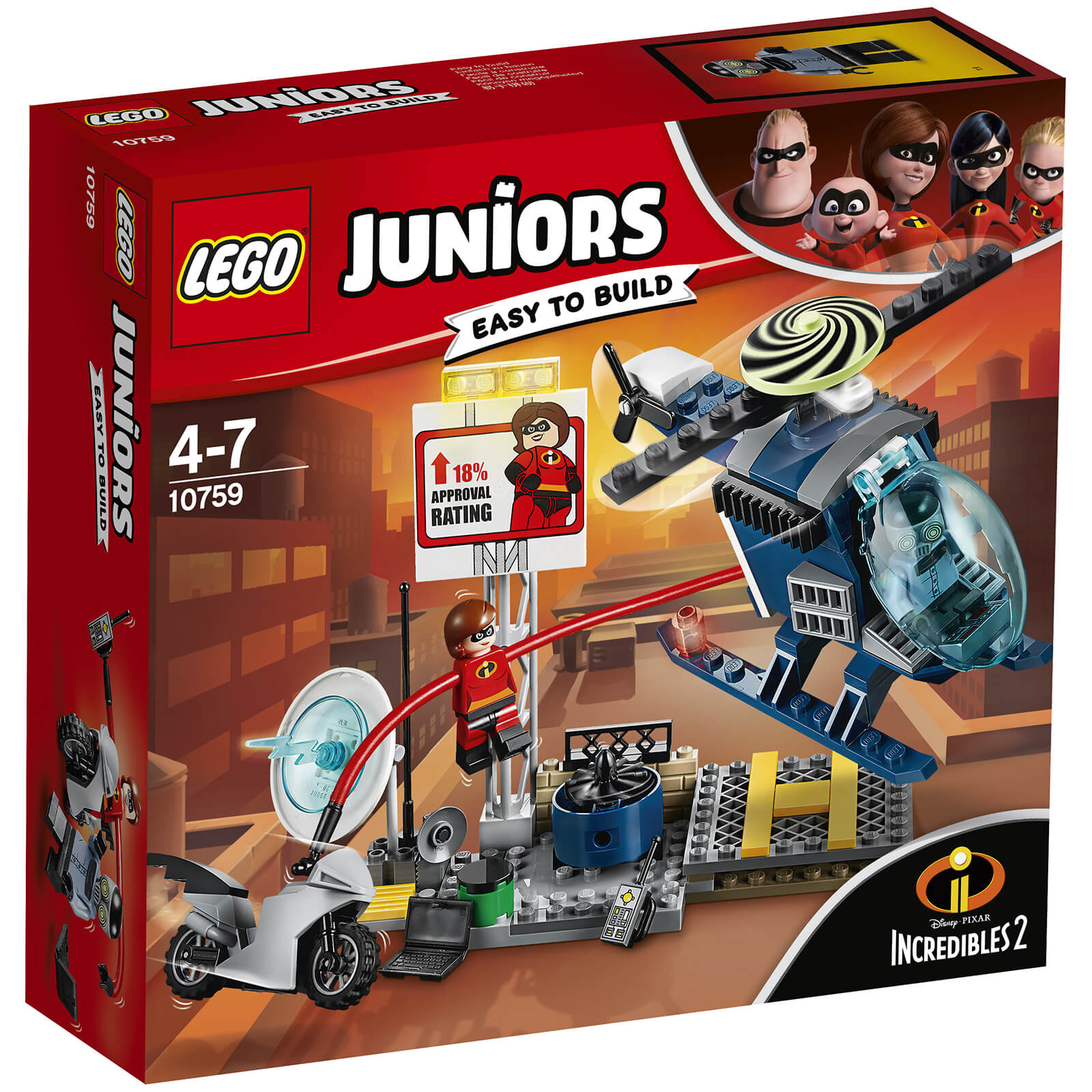 LEGO Juniors Disney Incredibles 2: Elastigirl