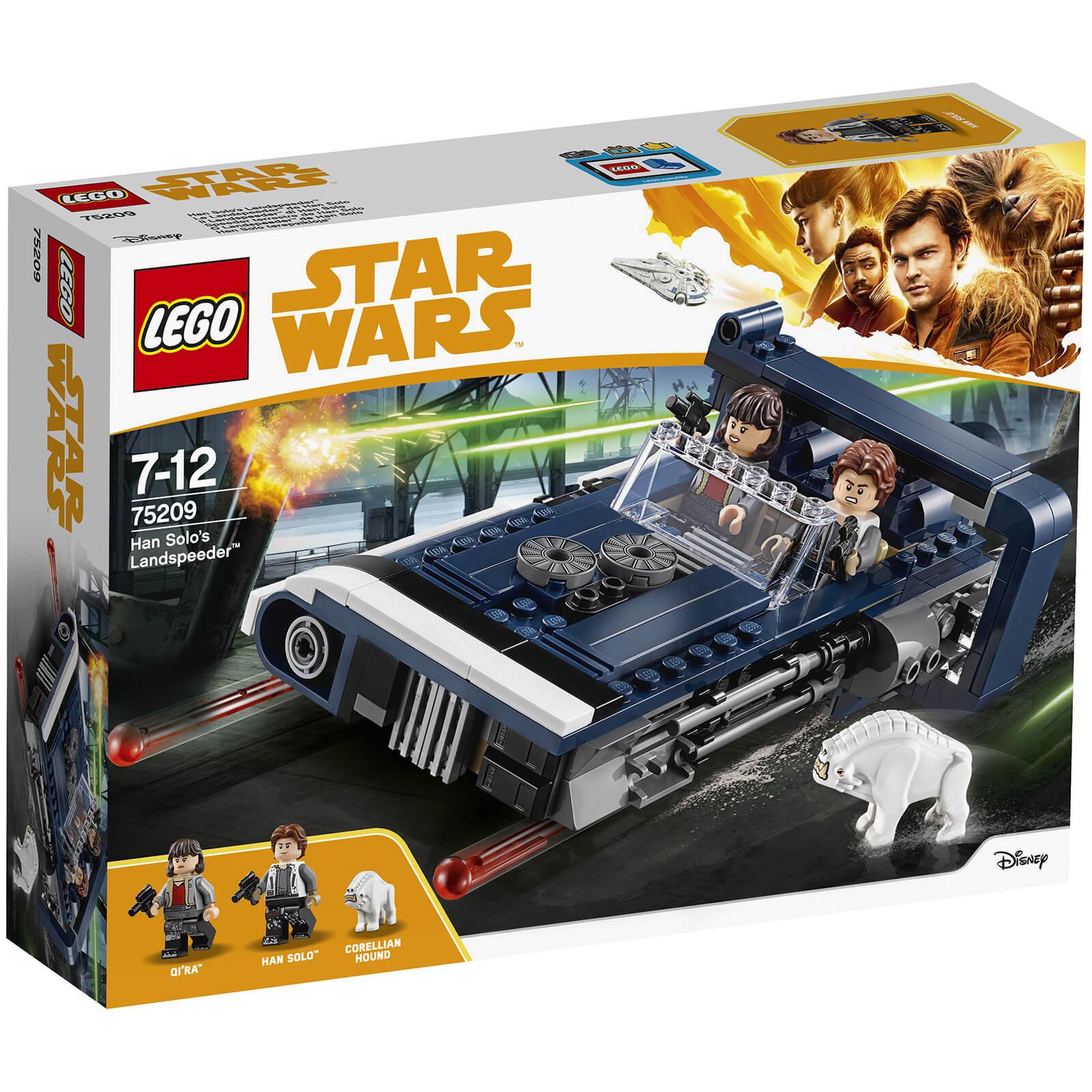 Terrestre Star Solo75209 Han De WarsSpeeder Lego 35ARj4L