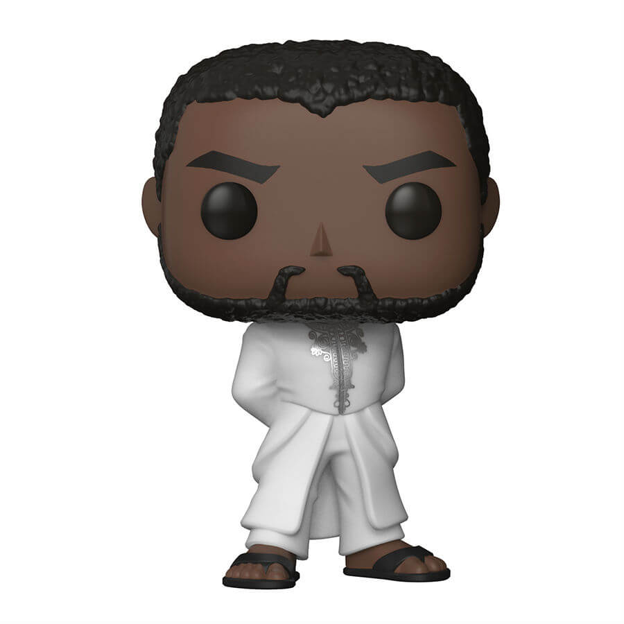 Black Panther White Robe Pop! Vinyl Figure