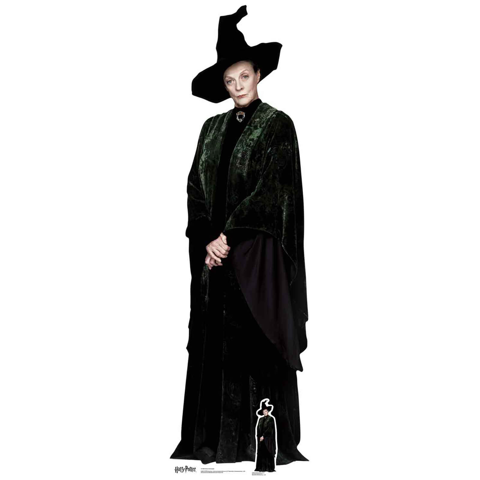 Professor McGonagall Life Sized Cut Out
