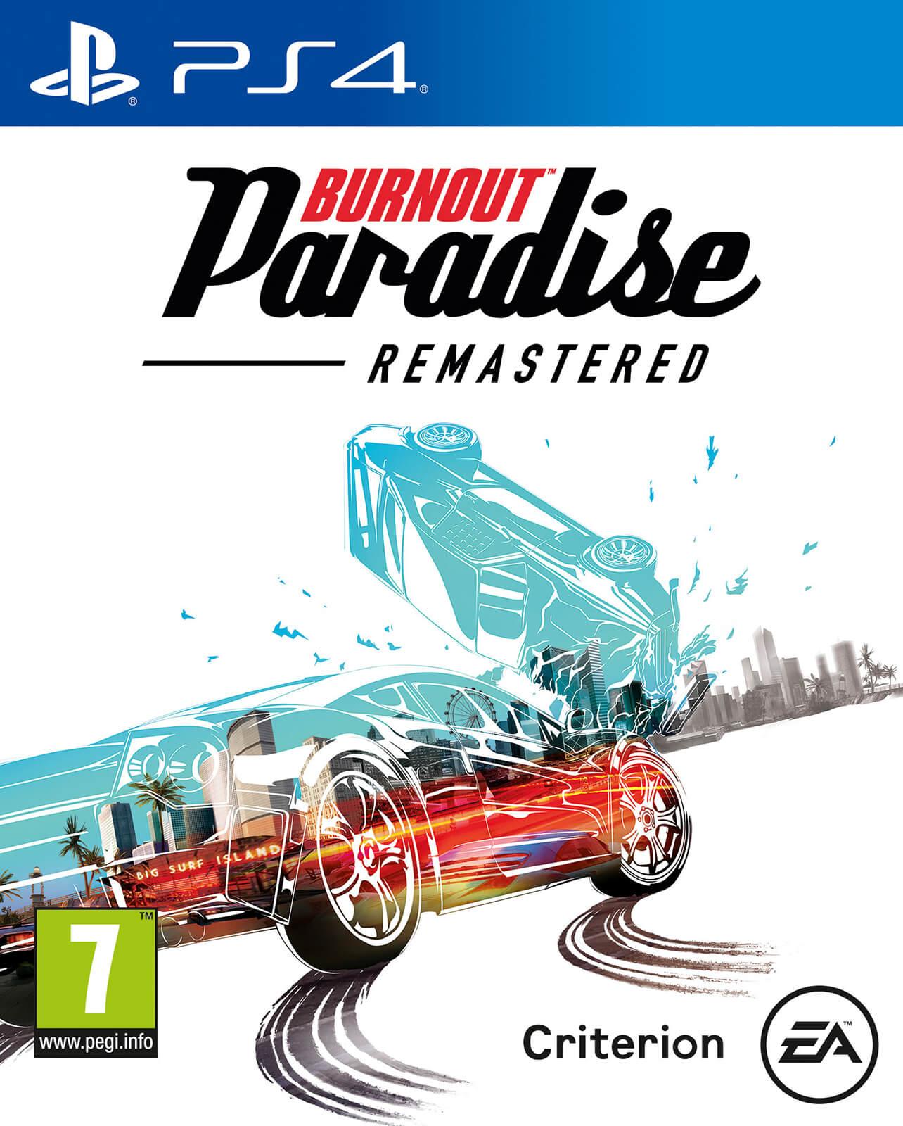 Burnout Paradise Remastered Ps4 Zavvi Us