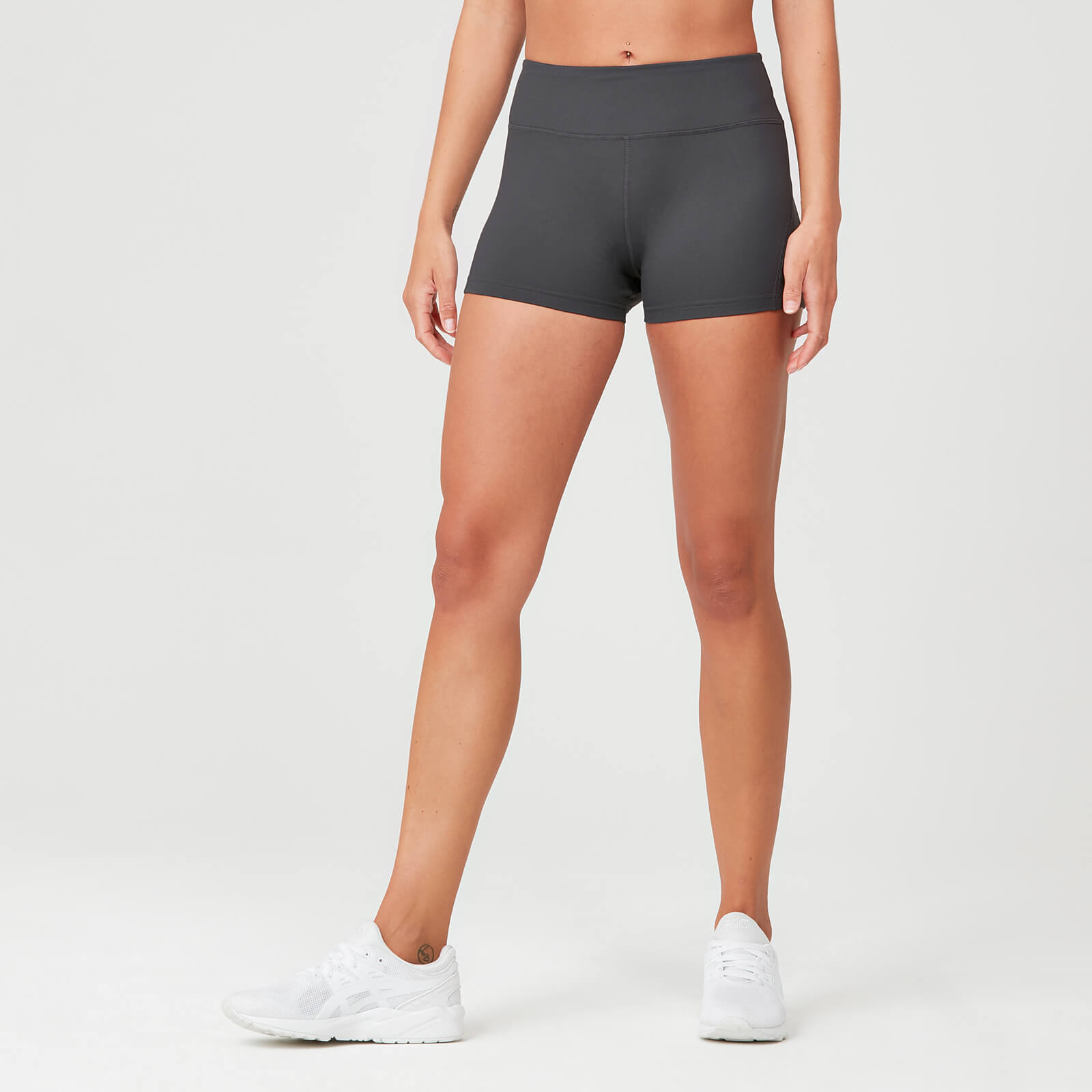 28a0e0b745 Acheter un short taille haute Power pour femme | gris | MYPROTEIN™
